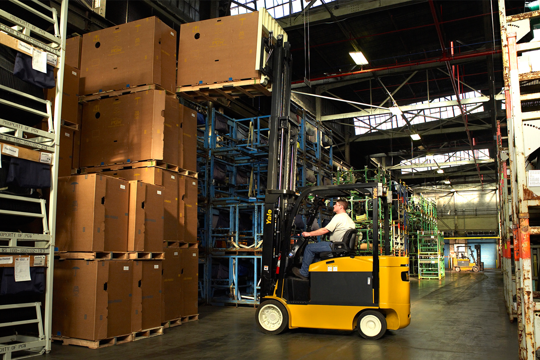 Showrooms for Lift Truck & Forklifts | Hyster, Yale, Utilev