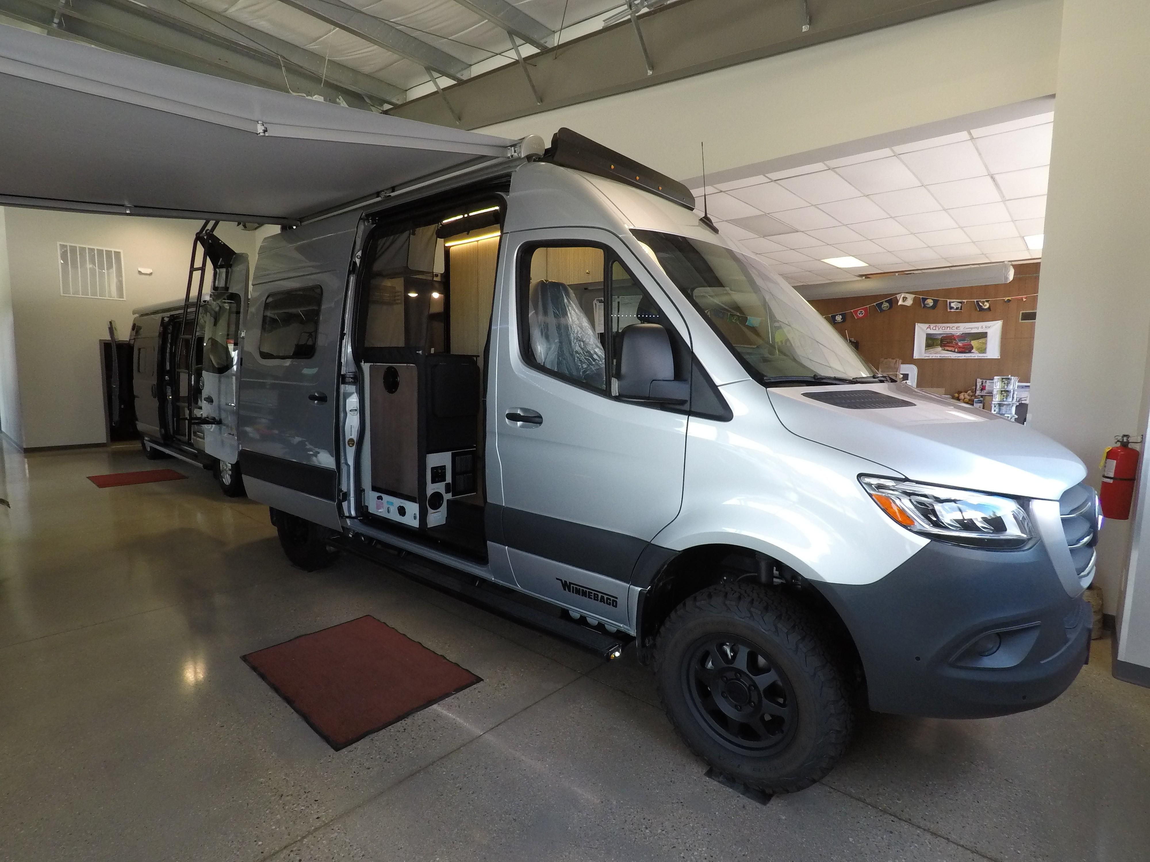 Advance Camping Sales, Featuring KZ, Pleasure Way, Winnebago