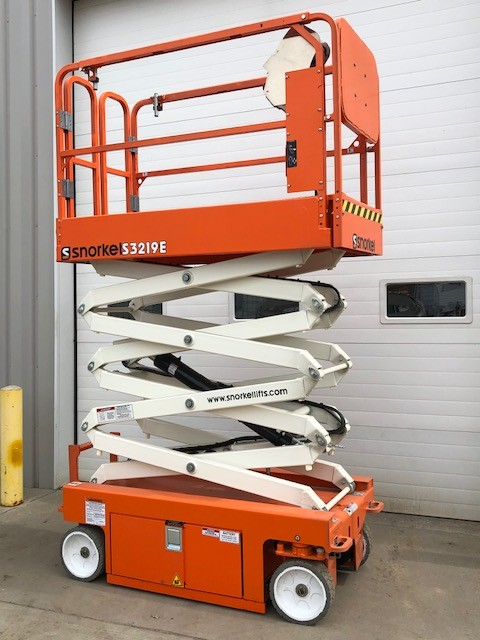 New, 2018, Snorkel, S3219E, Aerial Work Platforms