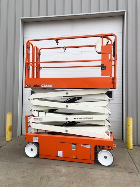 New, 2018, Snorkel, S3226E, Aerial Work Platforms