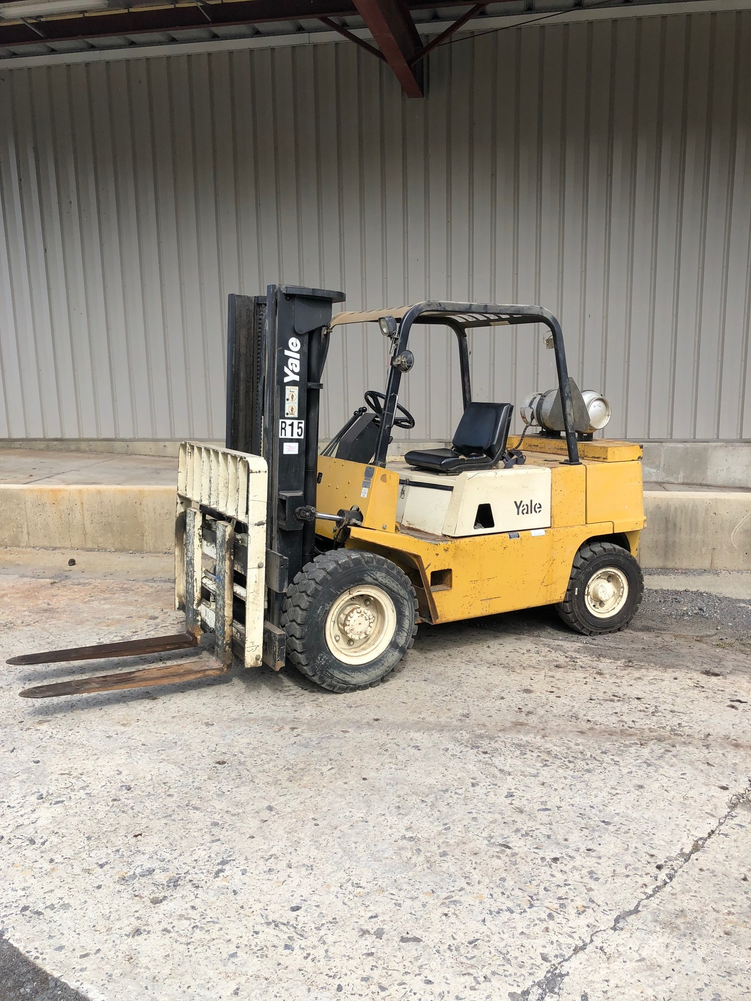 Used, 1989, Yale, GLP100, Forklifts