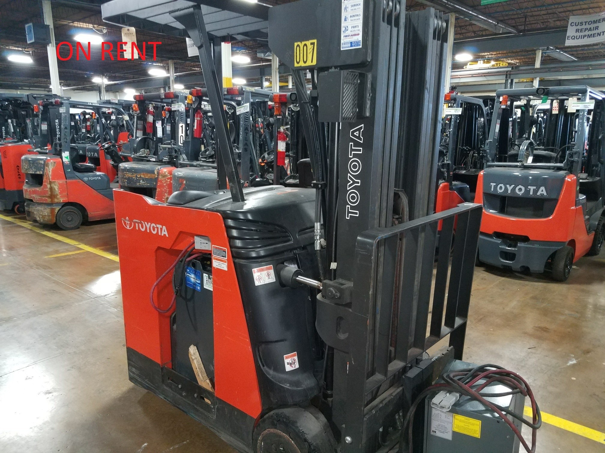 2013 Toyota Industrial Equipment 7BNCU18