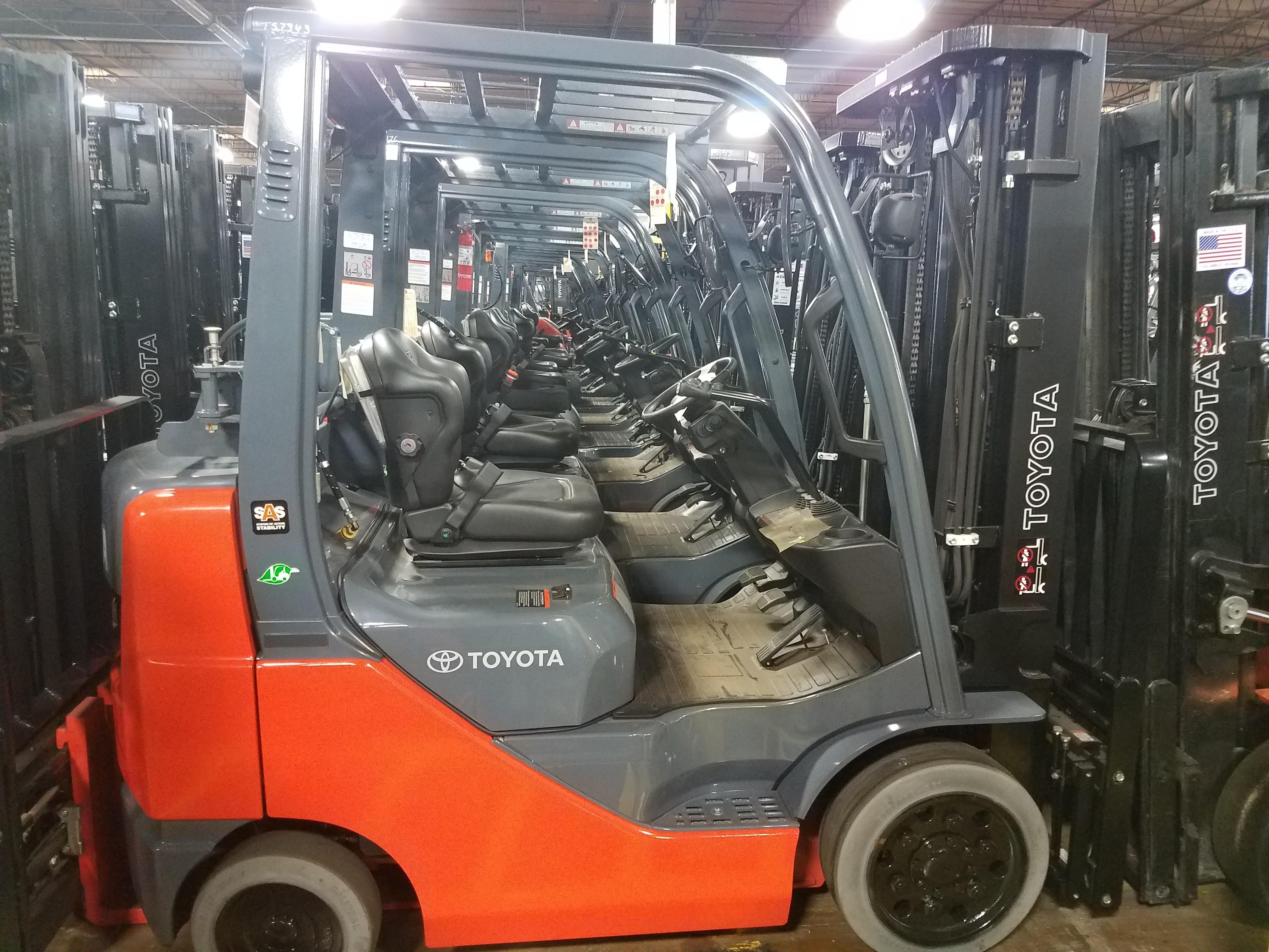 Forklifts For Salerent New And Used Forkliftsatlas Toyota