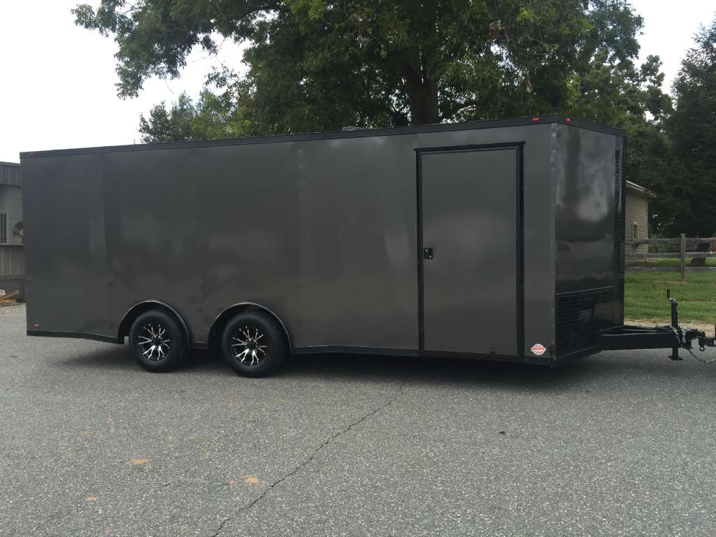 2018 New 85x20 VNose Enclosed Trailer