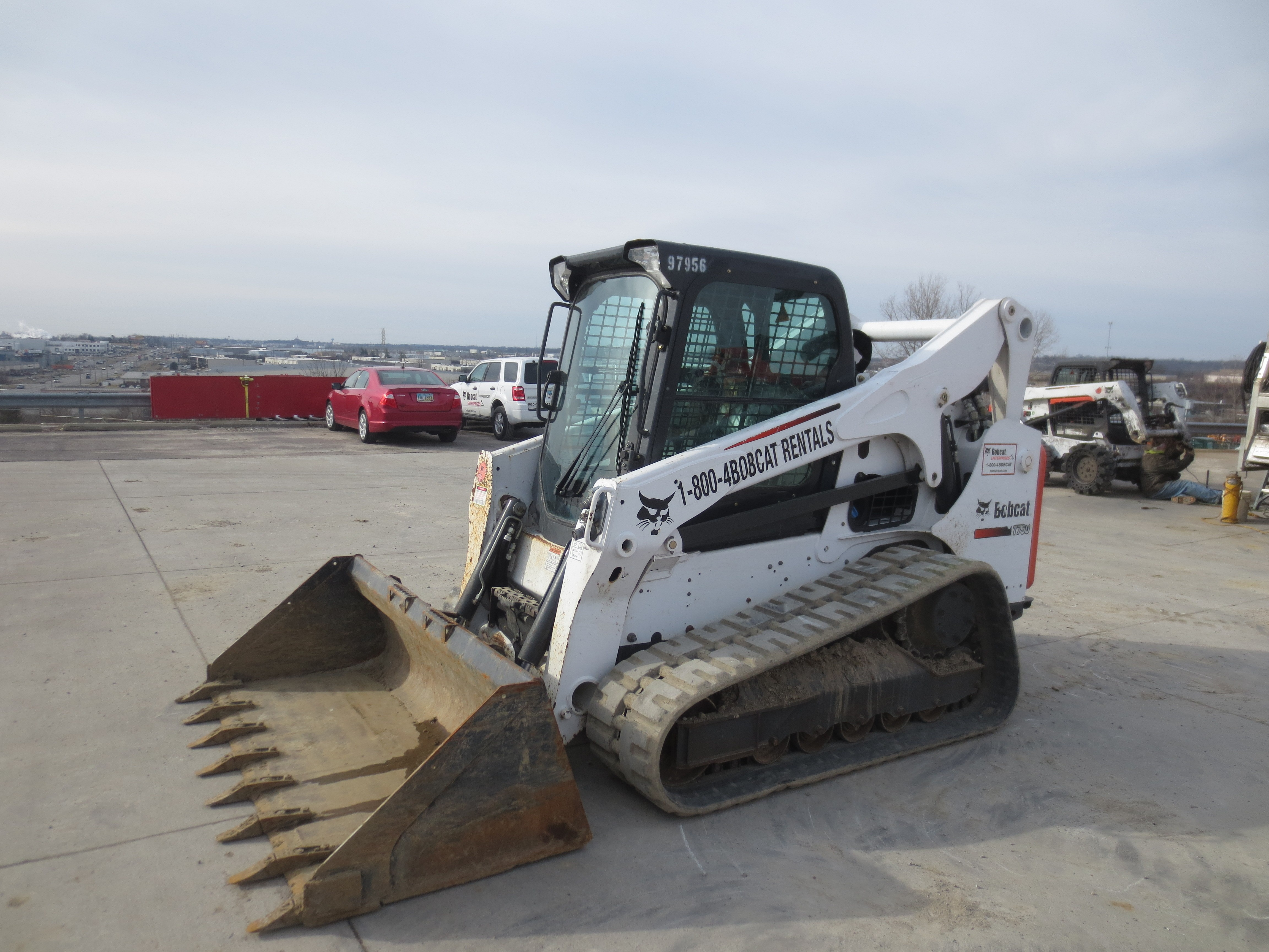 Used 2016 Bobcat T750 in Hamilton, OH