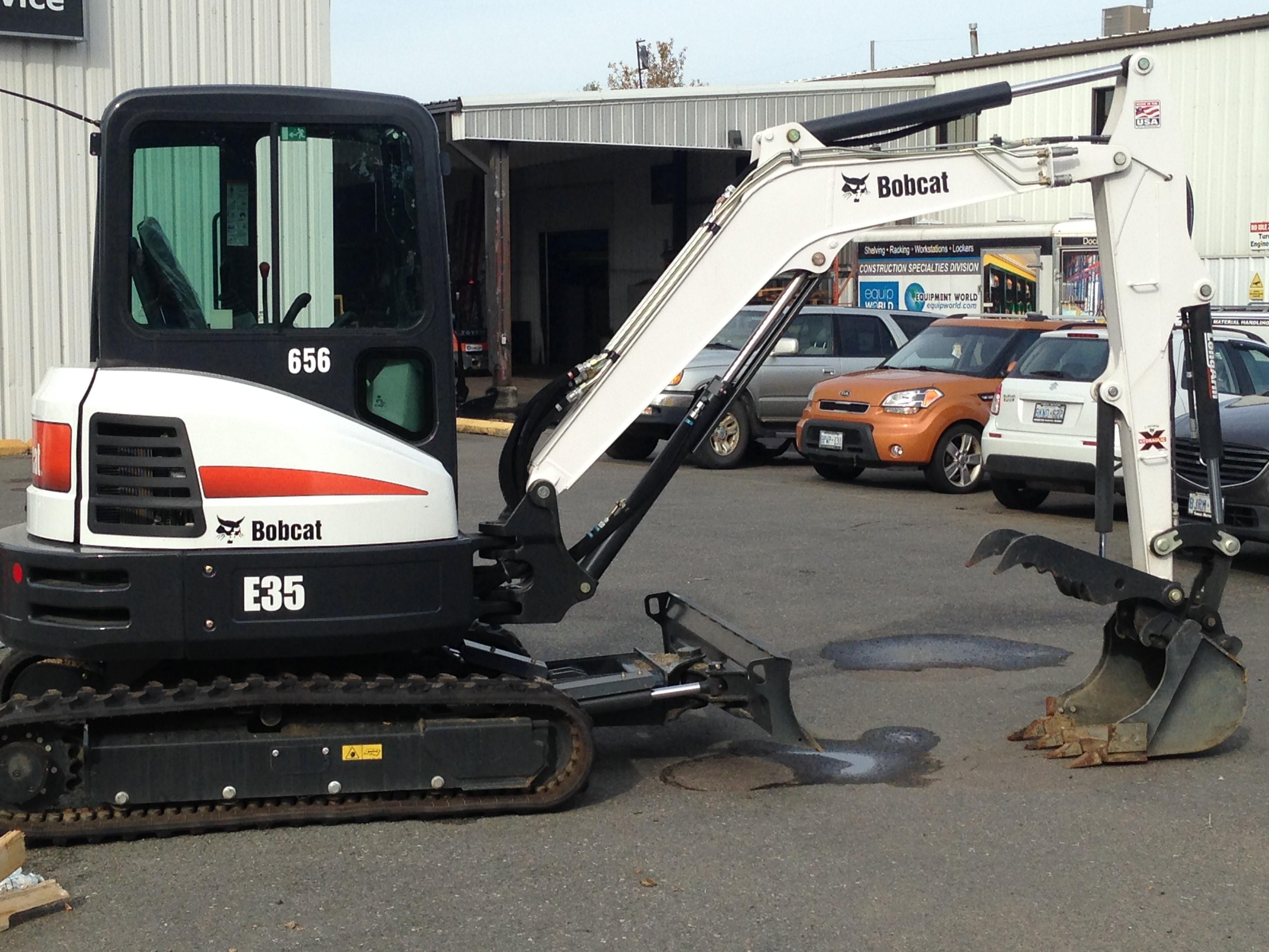 Used 2016 Bobcat E35 T4 Long Arm in Thunder Bay, ON