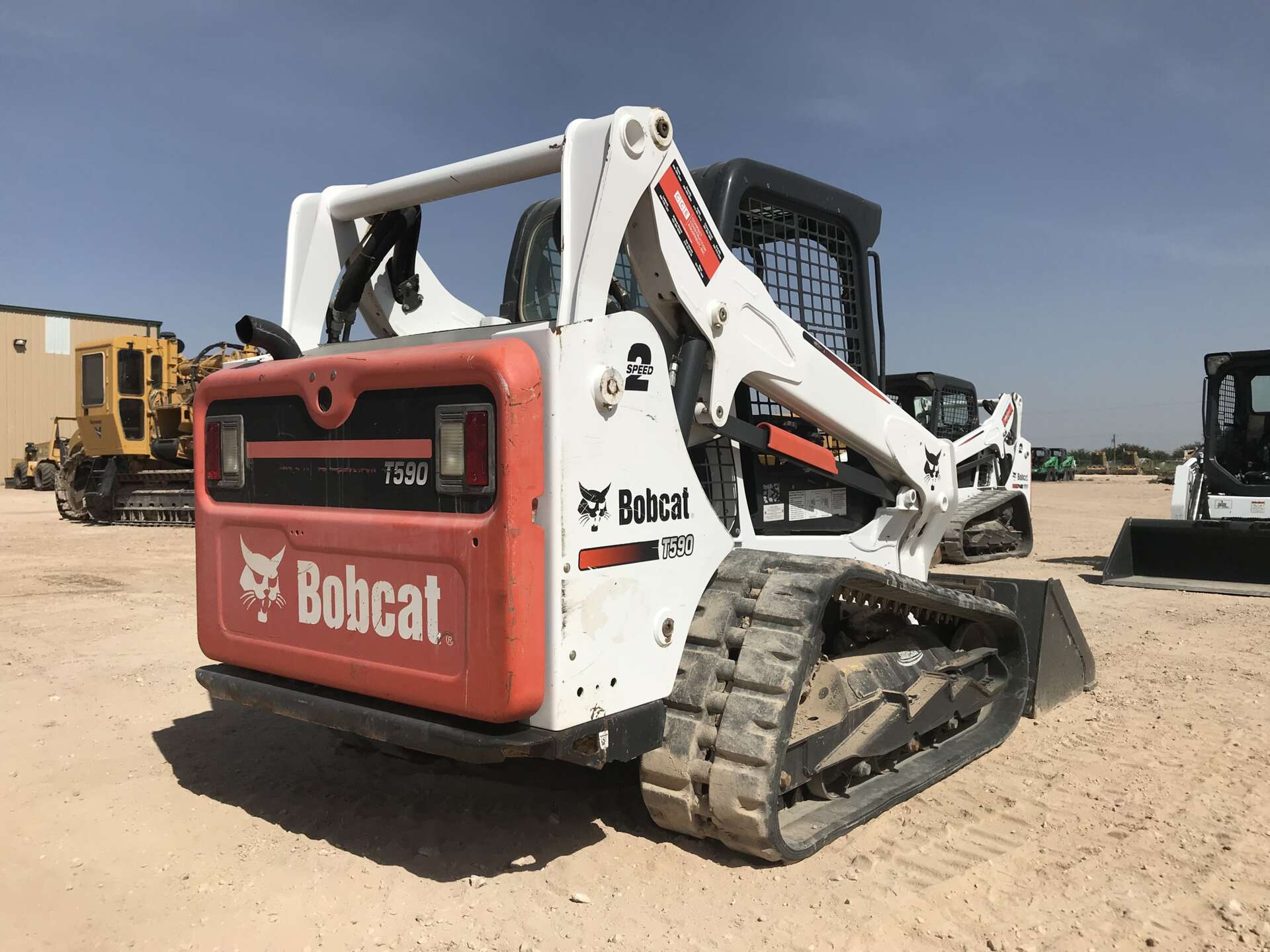 Used 2016 Bobcat T590 in Midland, TX