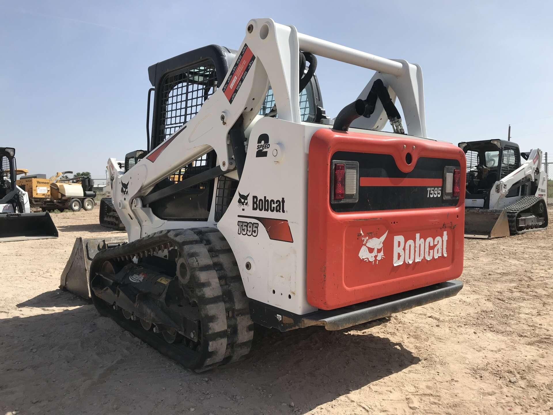 Used 2017 Bobcat T595 in Midland, TX