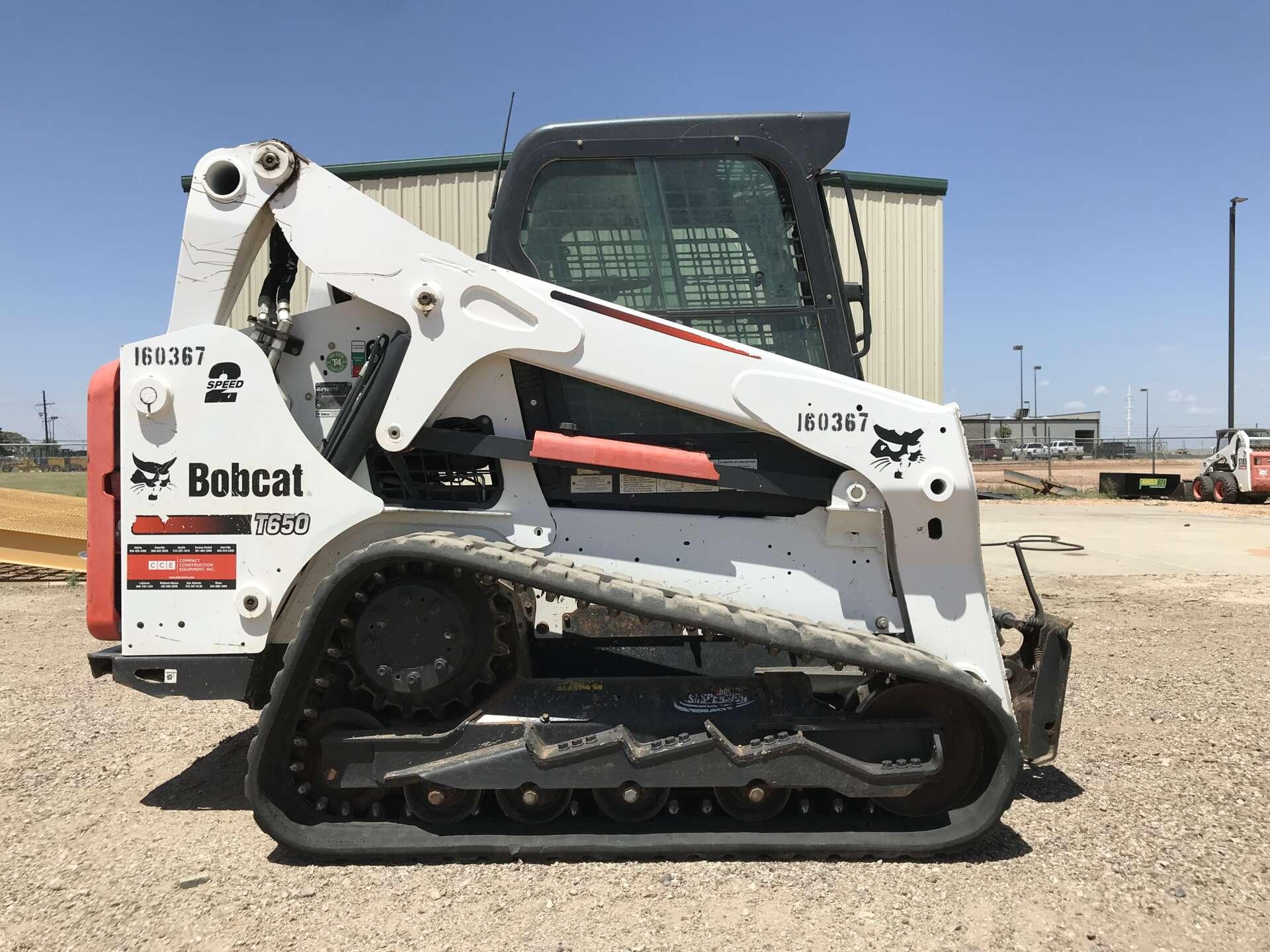Rent this 2016 Bobcat T650 in Lubbock, TX