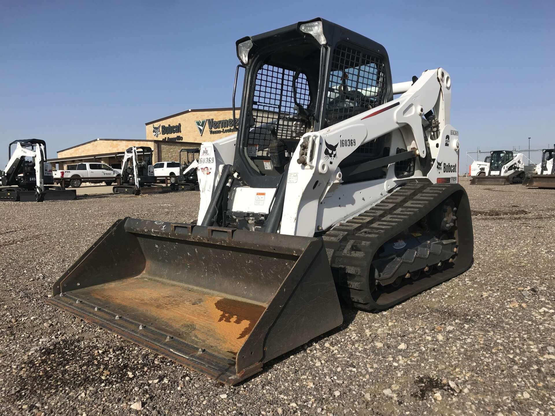 Rent this 2016 Bobcat T650 in San Antonio, TX