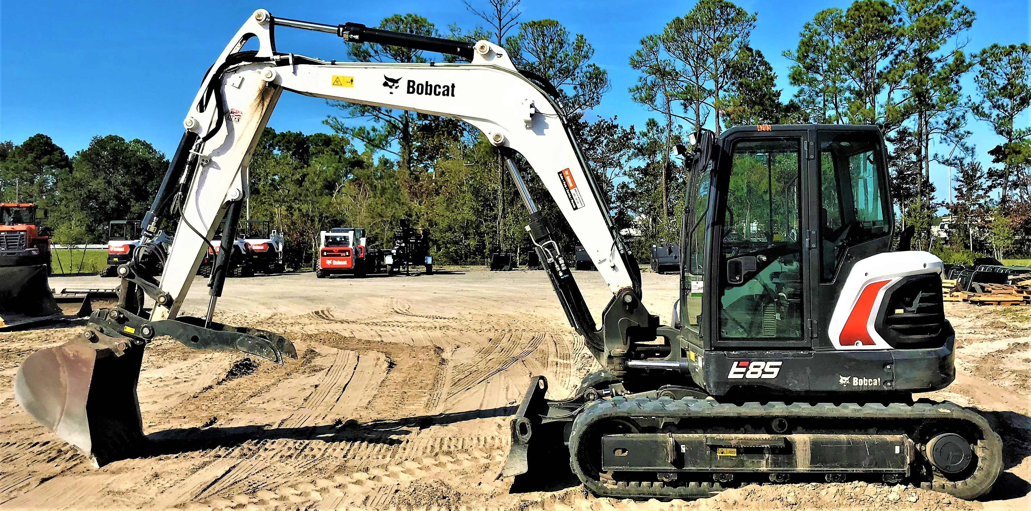 Rent this 2018 Bobcat E85 in Jacksonville, FL