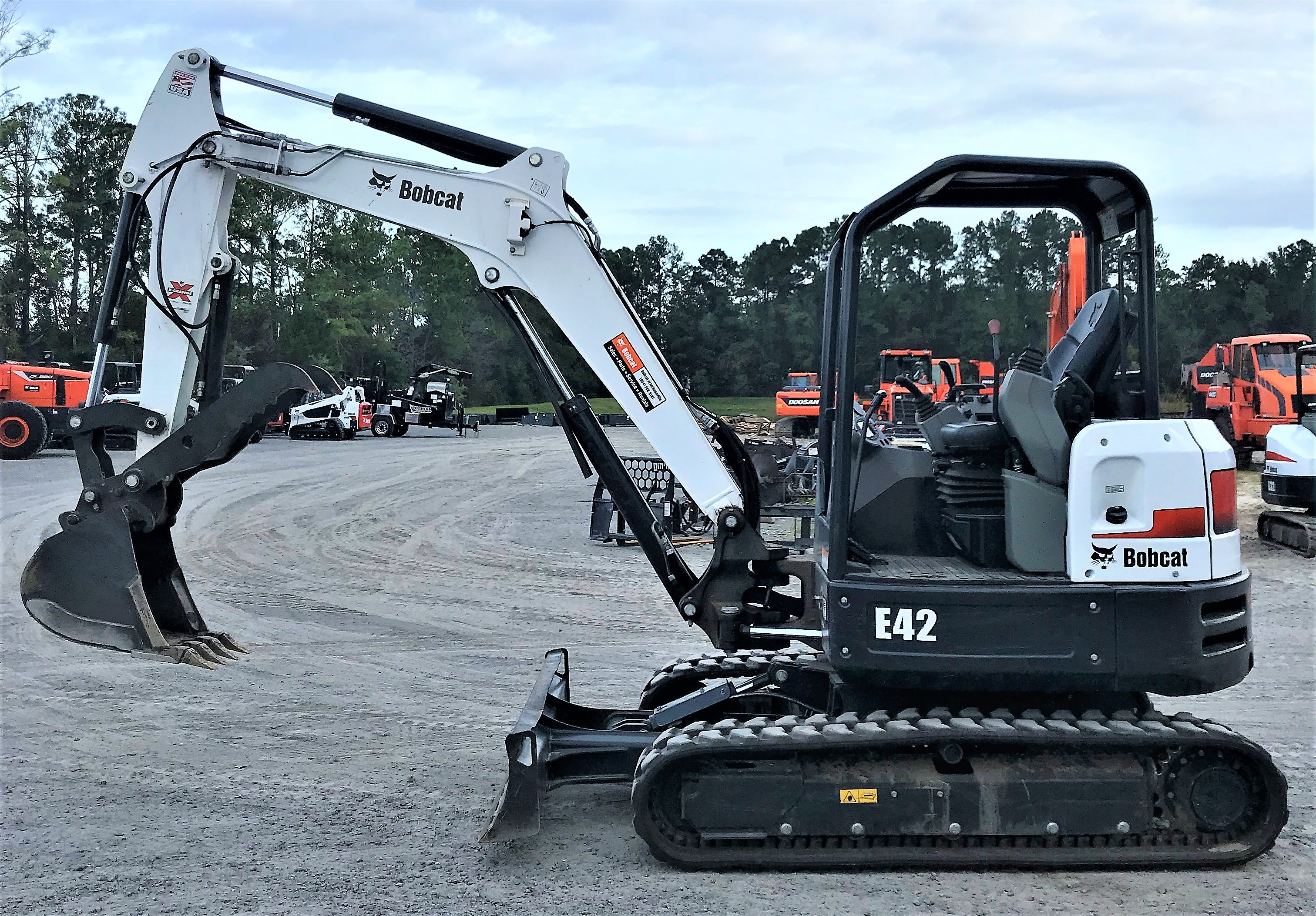 Used 2018 Bobcat E42 in Jacksonville, FL