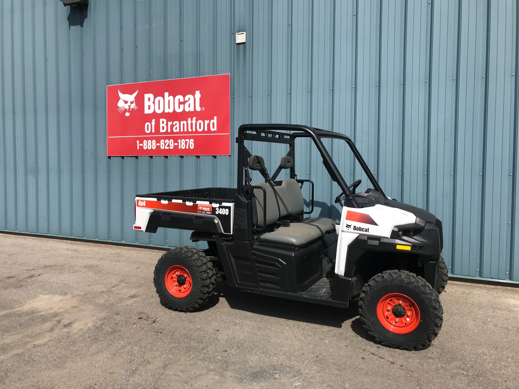 Bobcat Of Brantford >> Used 2018 Bobcat 3400 In Brantford On