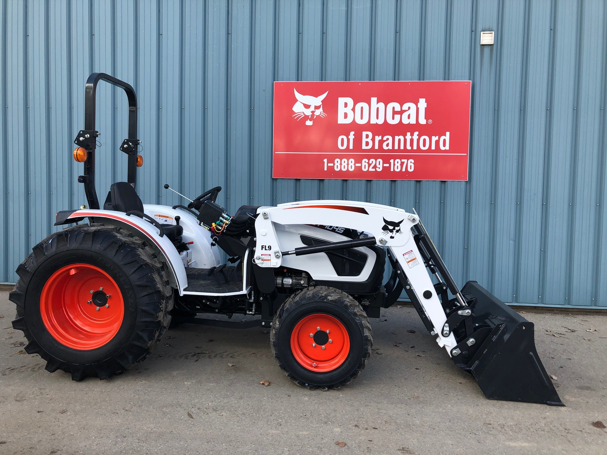 Bobcat Of Brantford >> Used 2019 Bobcat Ct4045 In Brantford On