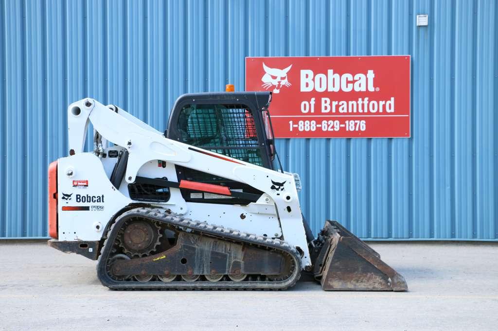 Bobcat Of Brantford >> Used 2012 Bobcat T750 In Brantford On