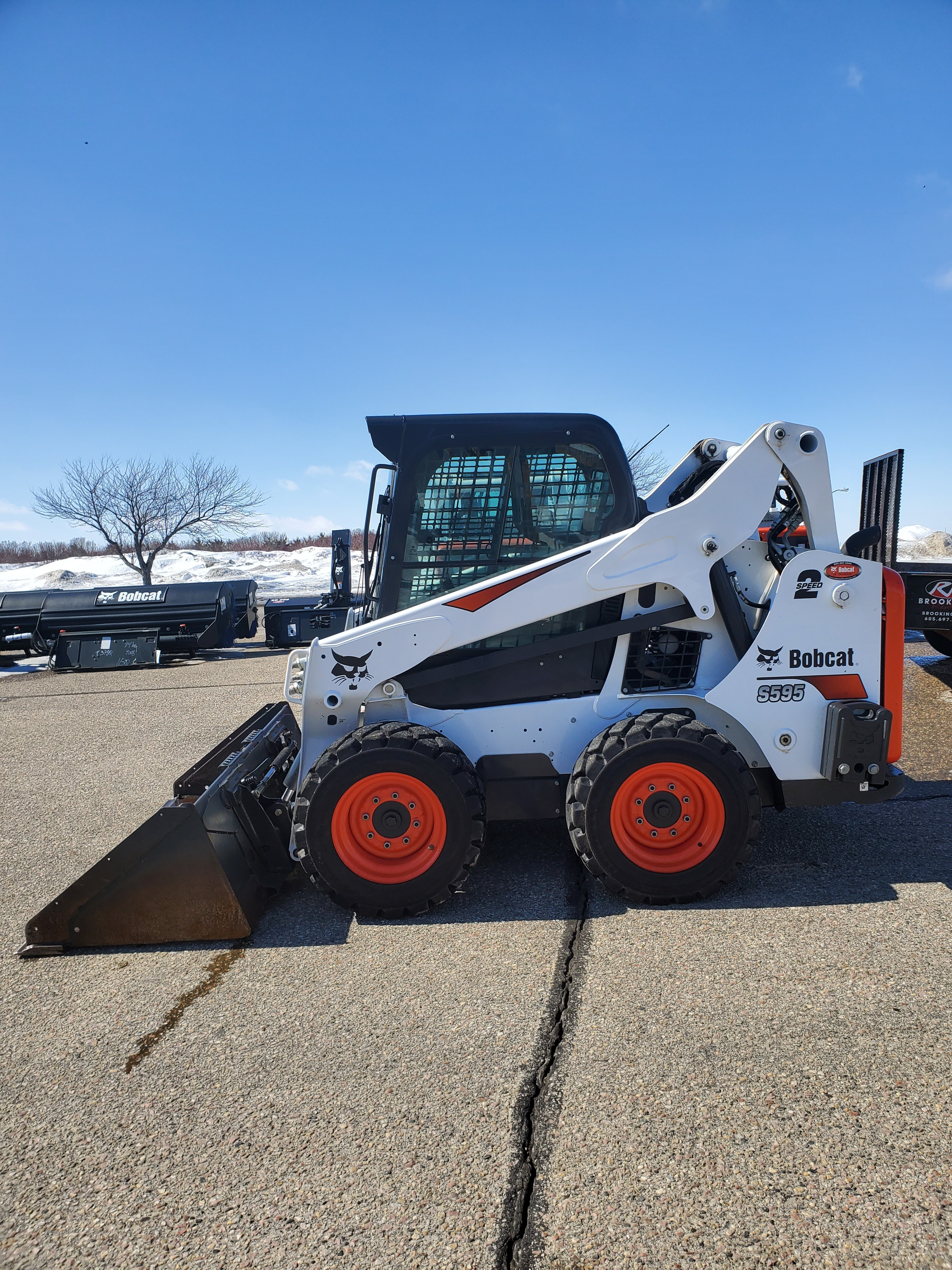 Used 2018 Bobcat S595 in Brookings, SD