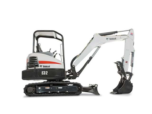 Used, 2017, Bobcat, E32 T4 , Excavators