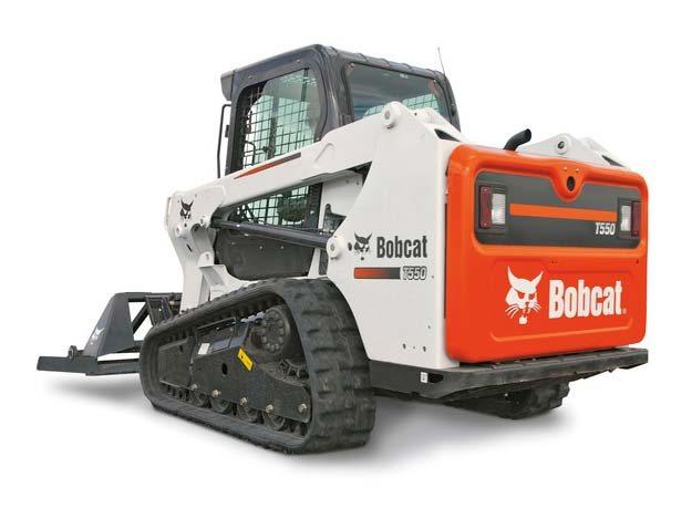 Used, 2017, Bobcat, T550 , Loaders