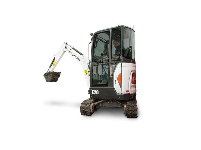 Used, 2017, Bobcat, E20, Excavators