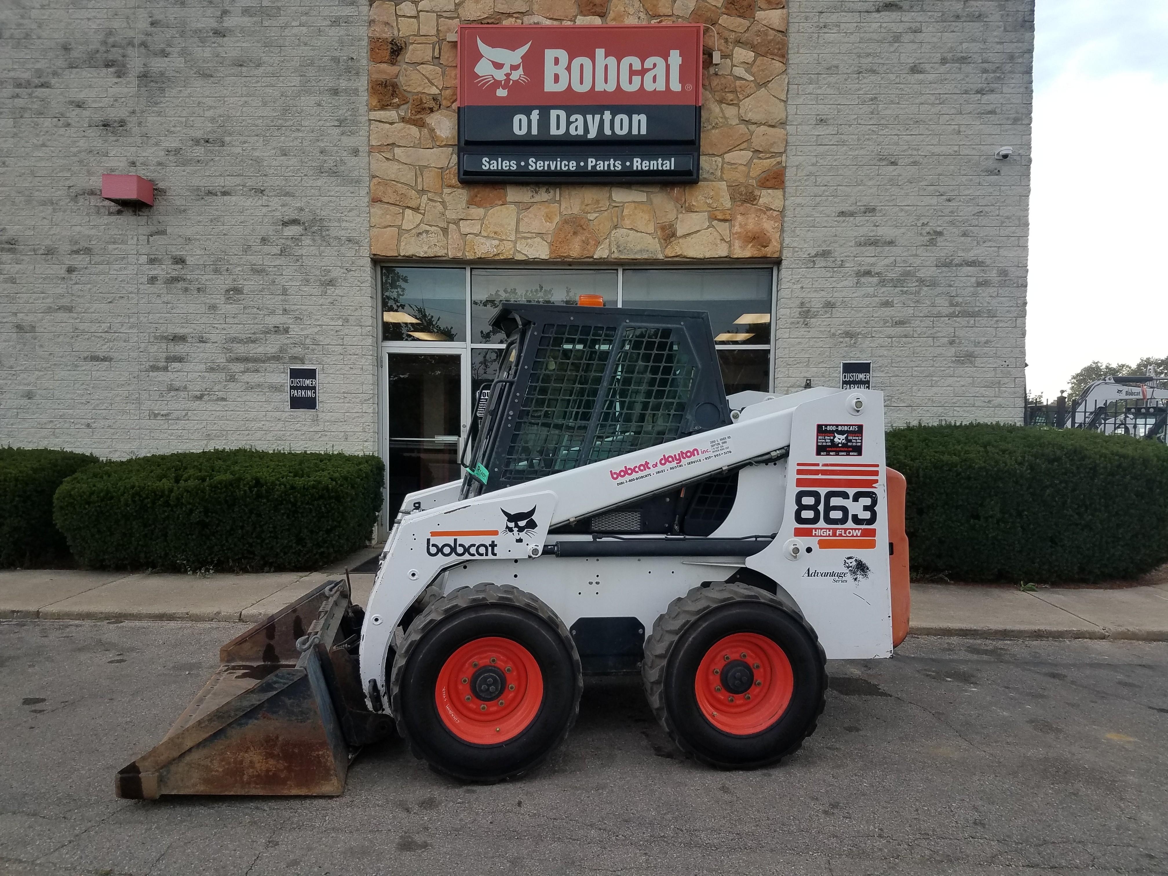 Used Tires Dayton Ohio >> Used 1999 Bobcat 863 In Dayton Oh