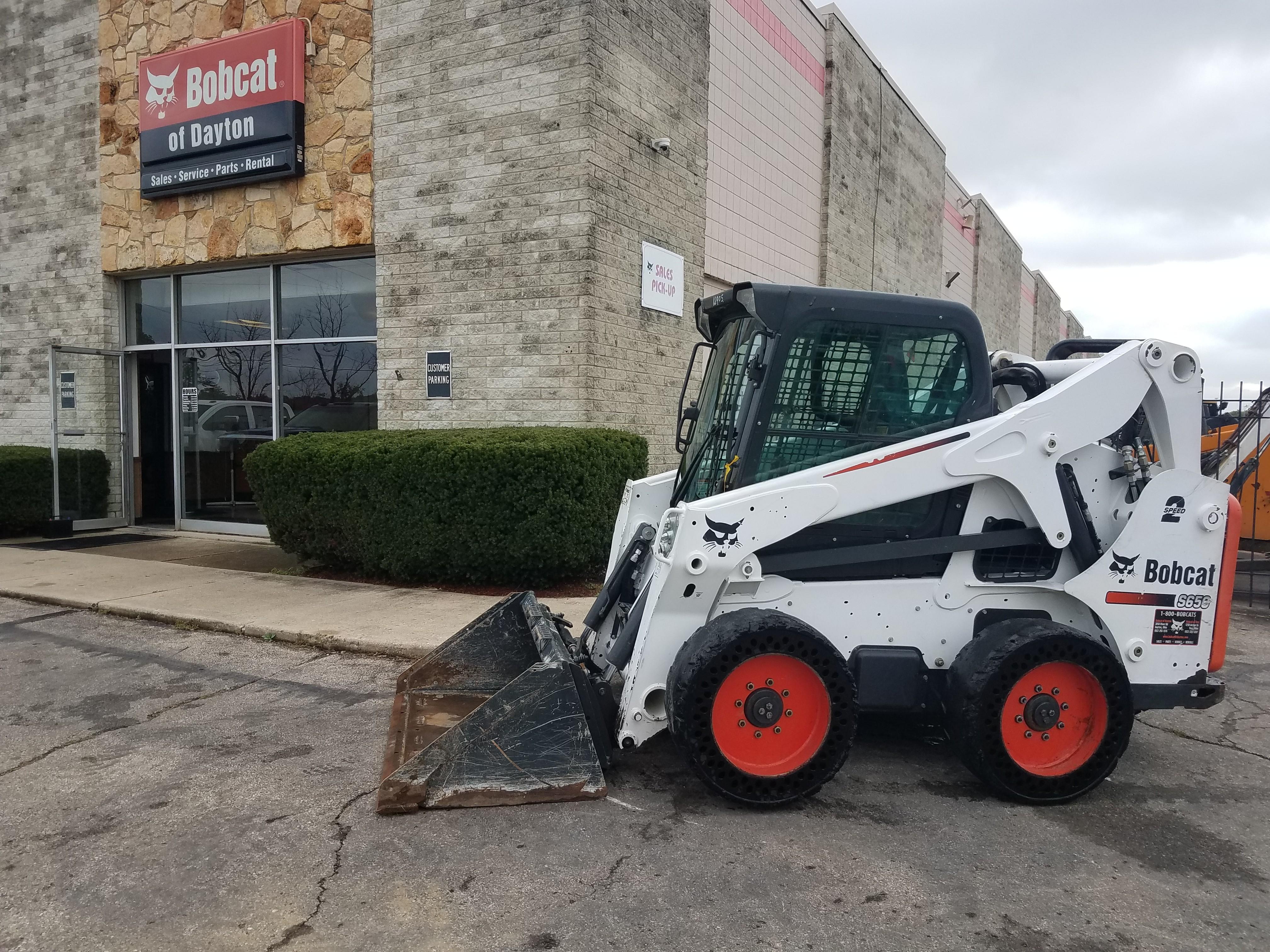 Used Tires Dayton Ohio >> Used 2014 Bobcat S650 In Dayton Oh
