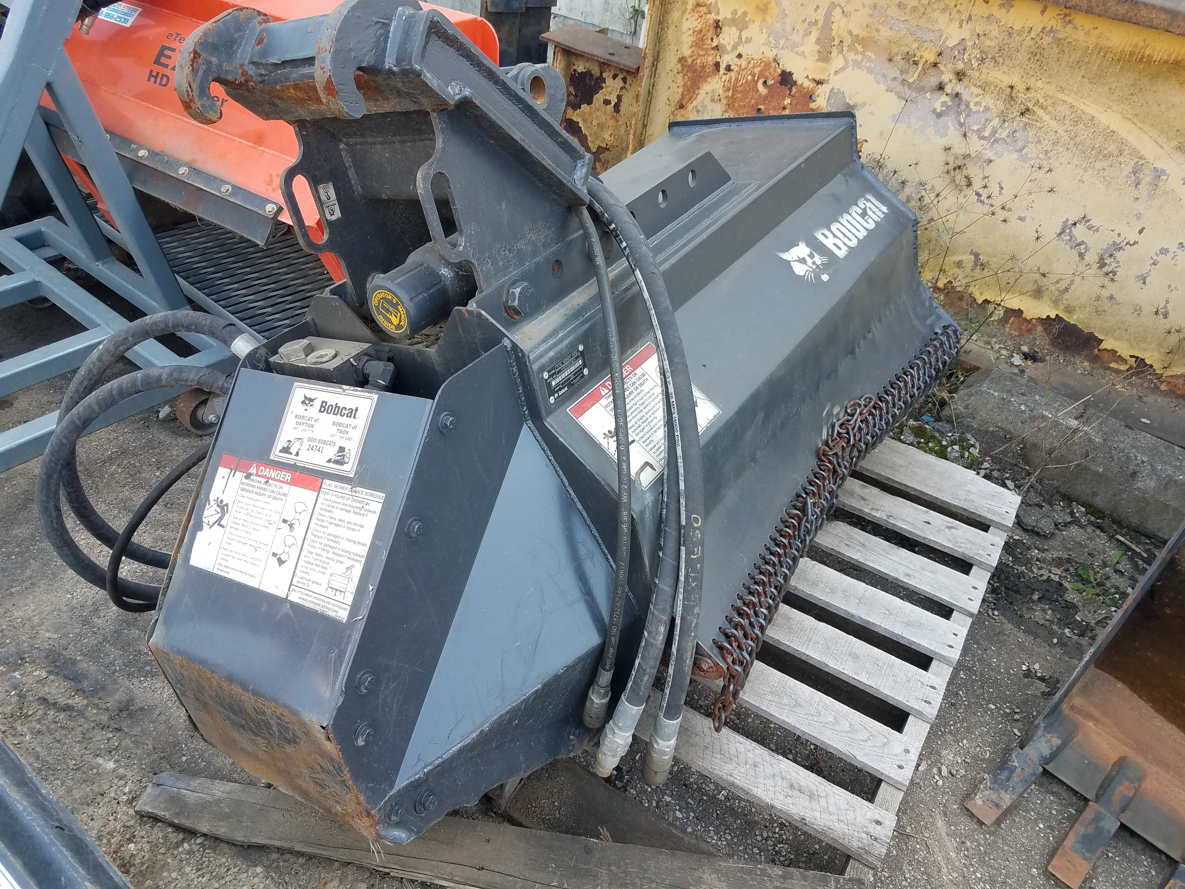 Used 2018 Bobcat Flail Mower in Dayton, OH