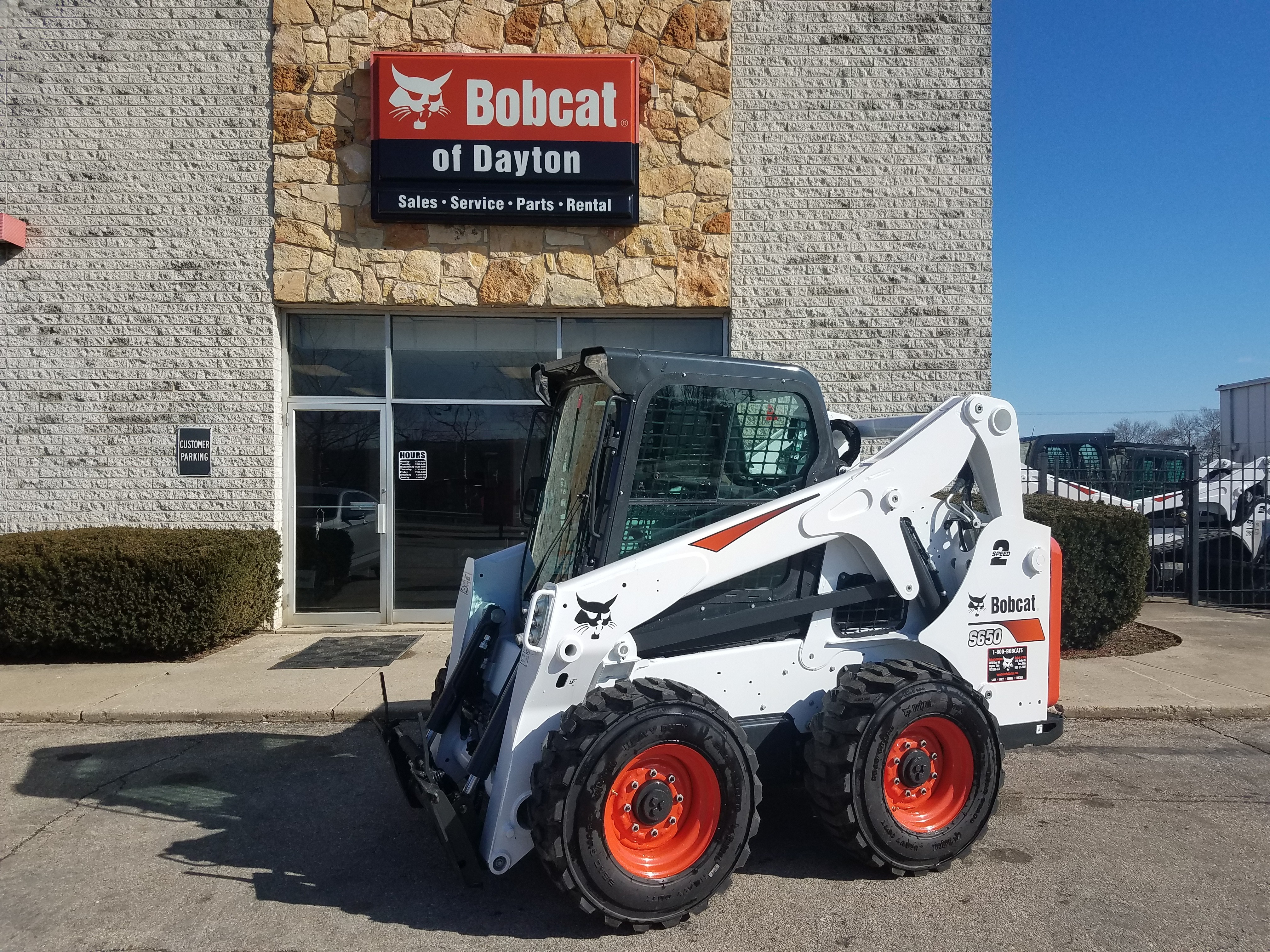 New 2018 Bobcat S650 in Dayton, OH
