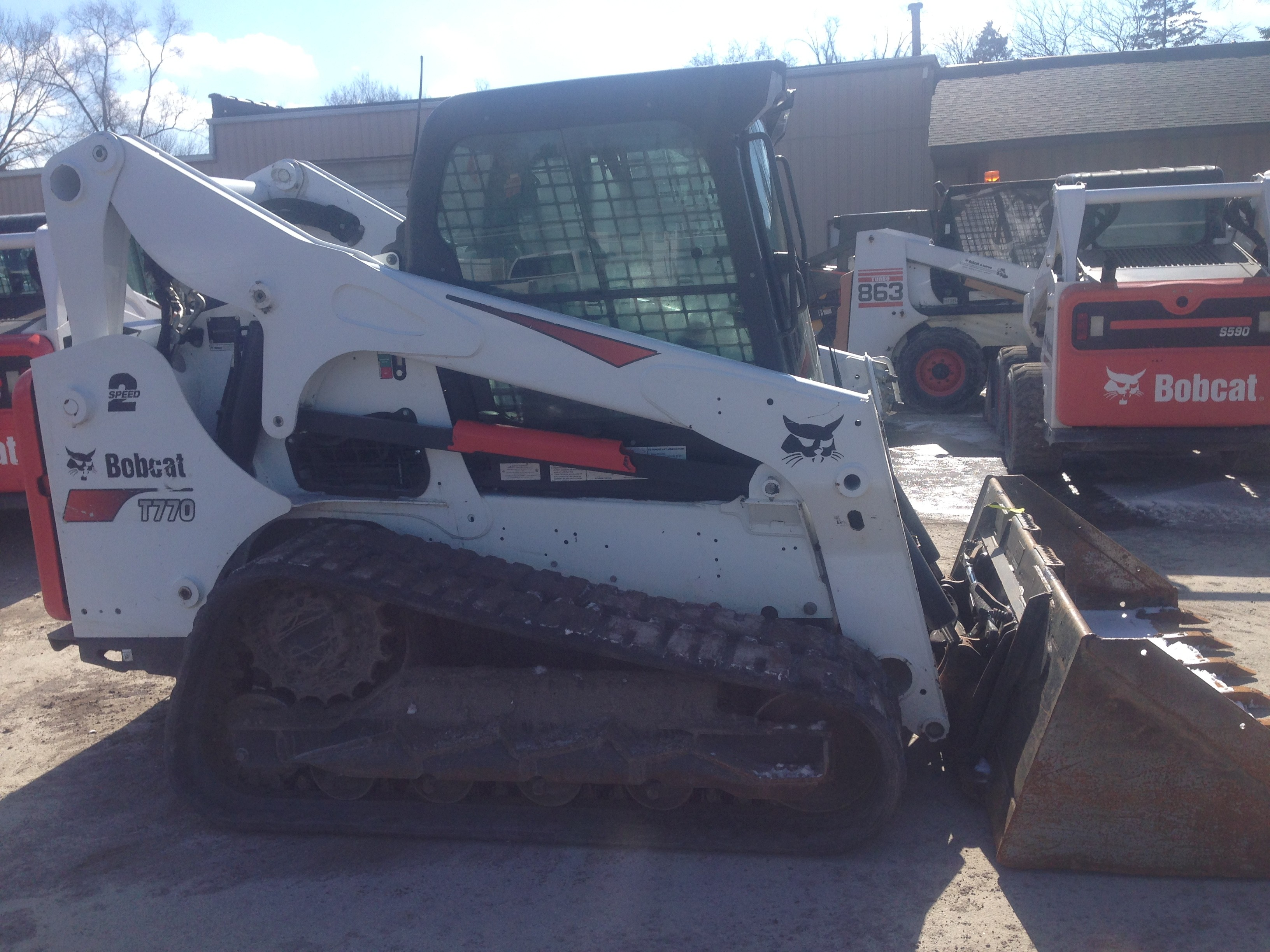 Used 2017 Bobcat T770 in Indianapolis, IN