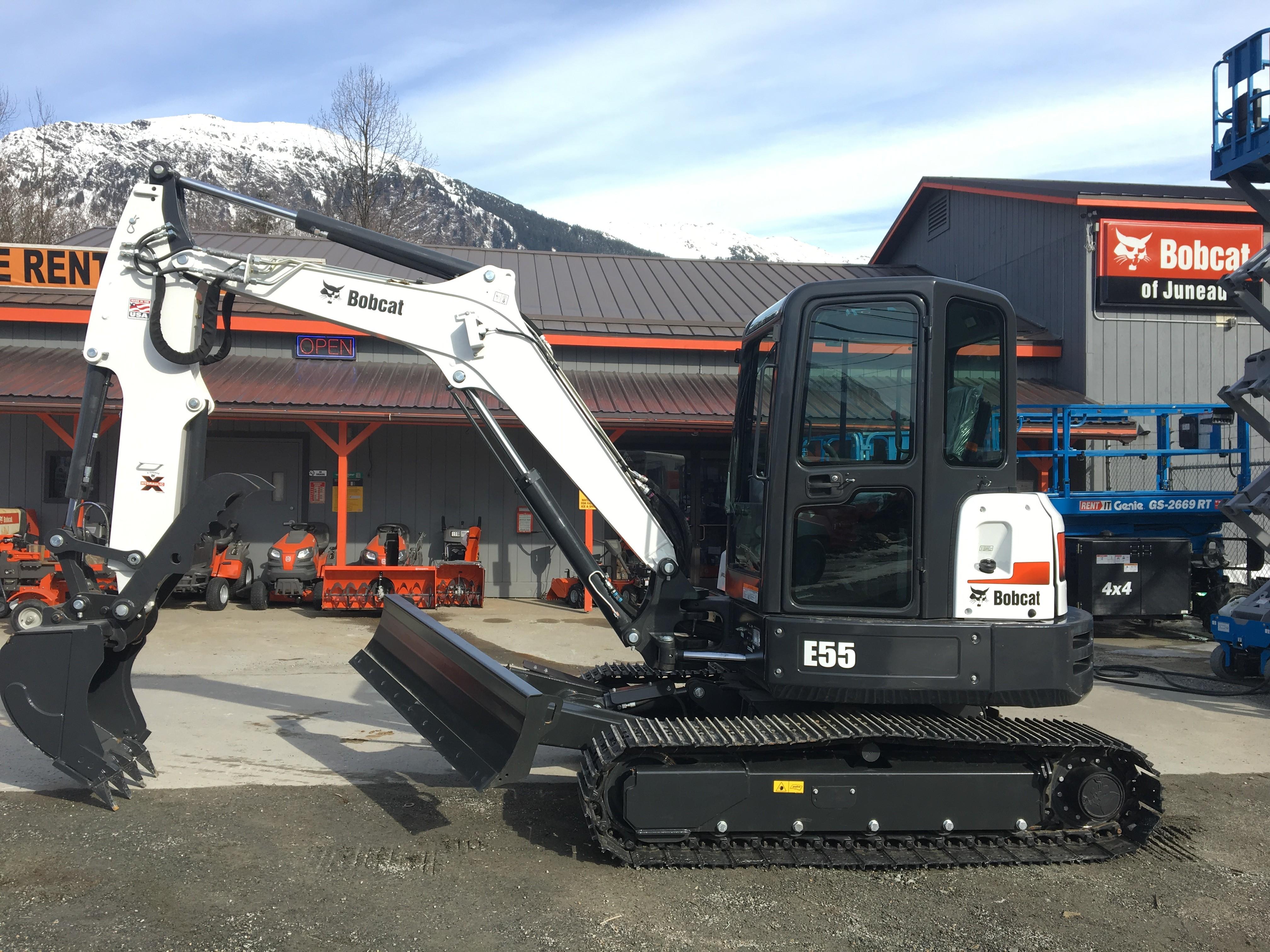 New 2018 Bobcat E55 (Extendable Arm) in Juneau, AK