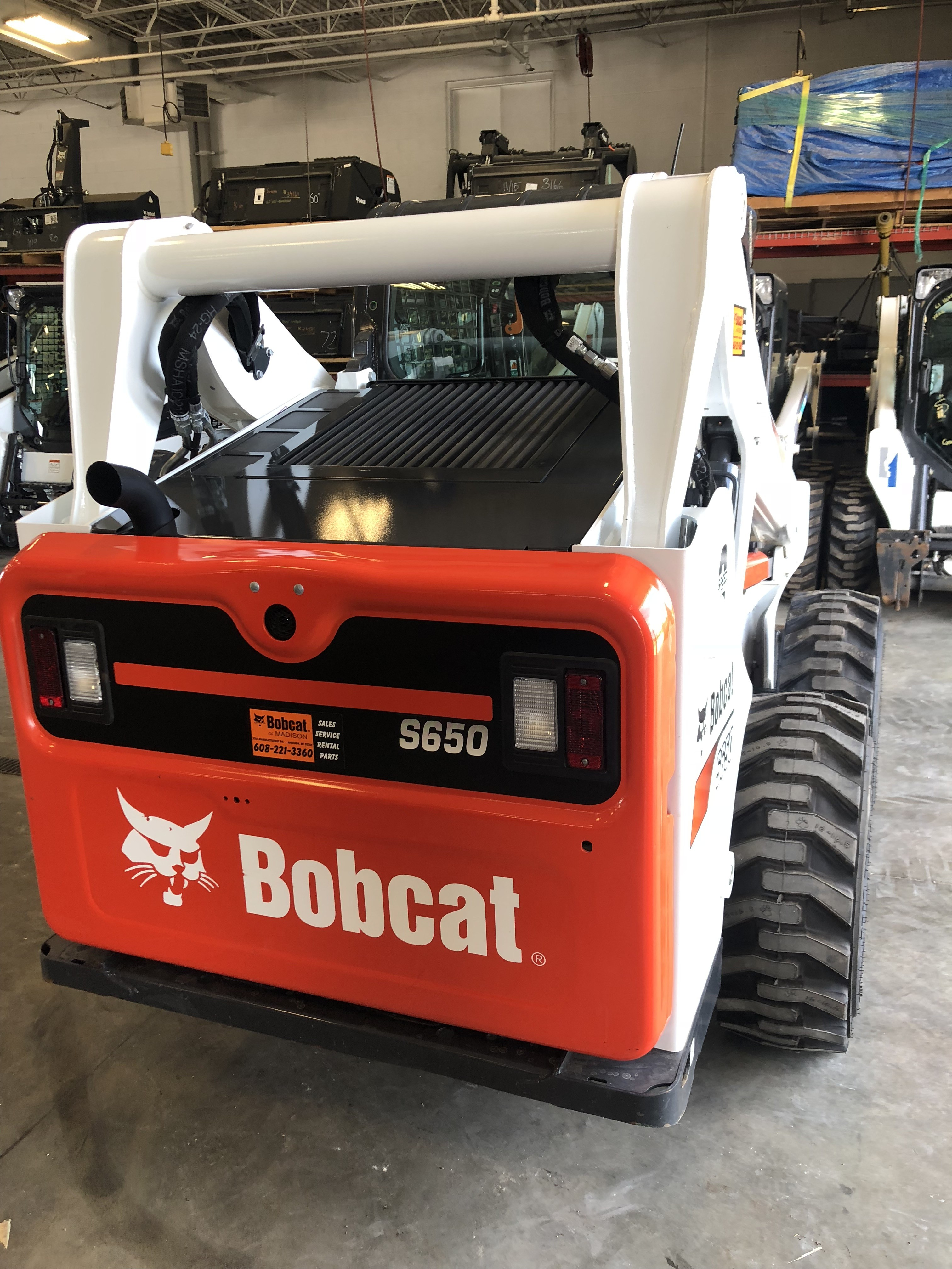 Used 2017 Bobcat S650 in Madison, WI