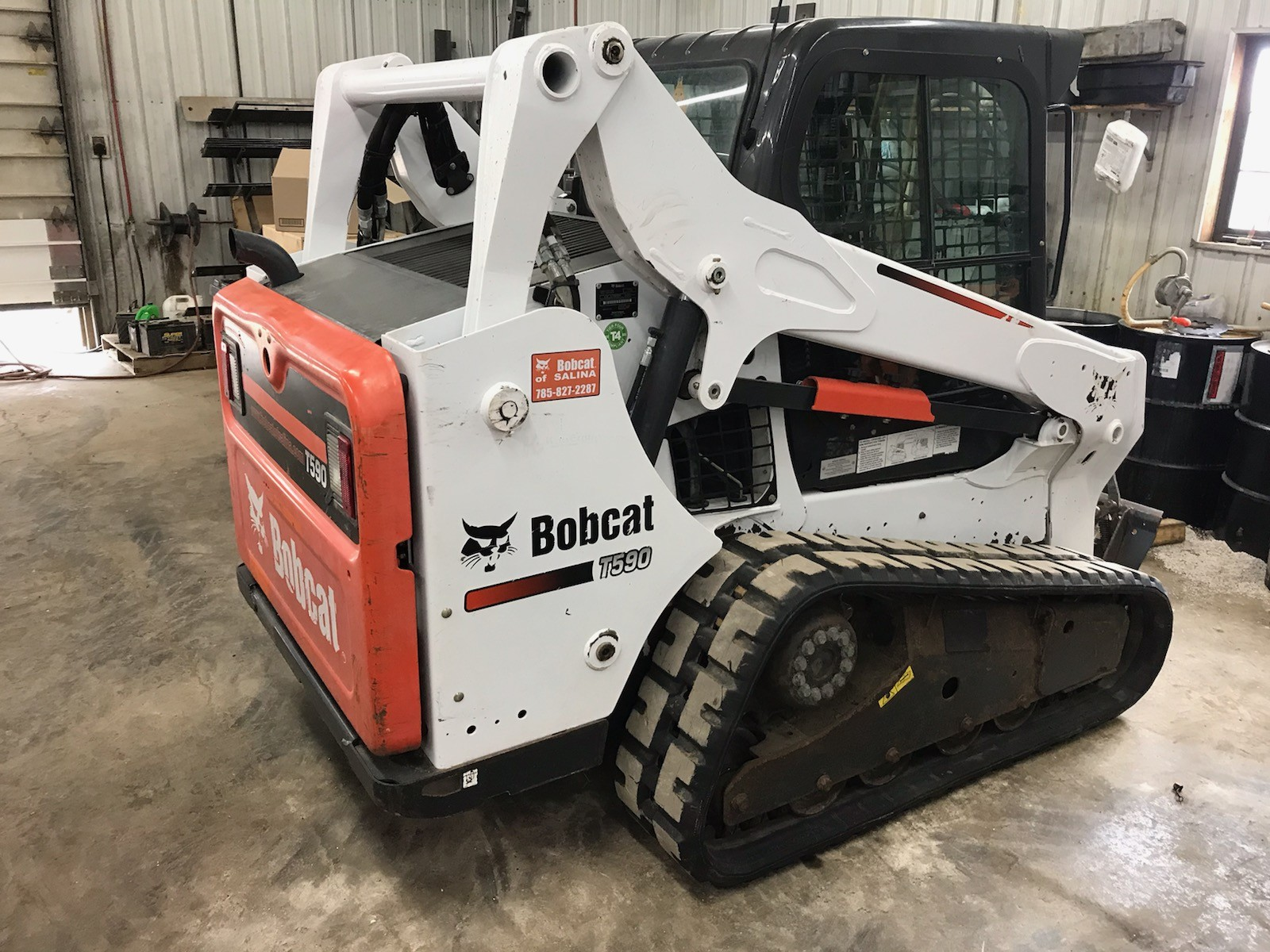 Used 2014 Bobcat T590 in Salina, KS