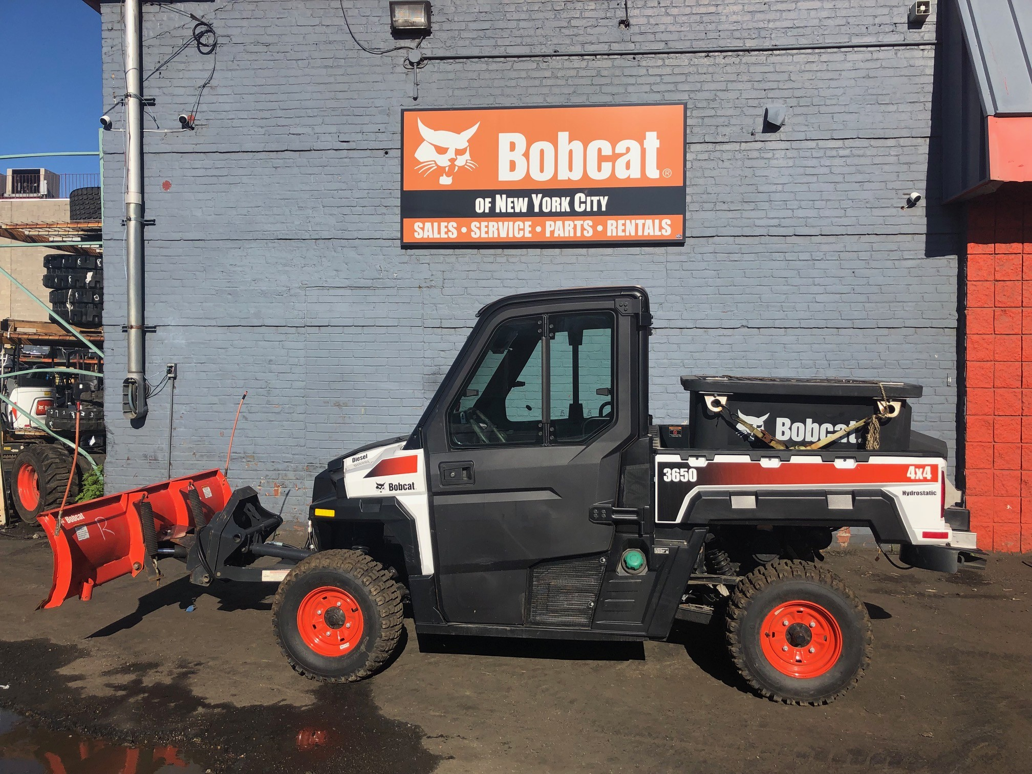 Used Utility Vehicles >> Used 2018 Bobcat 3650 4x4 Diesel In Maspeth Ny