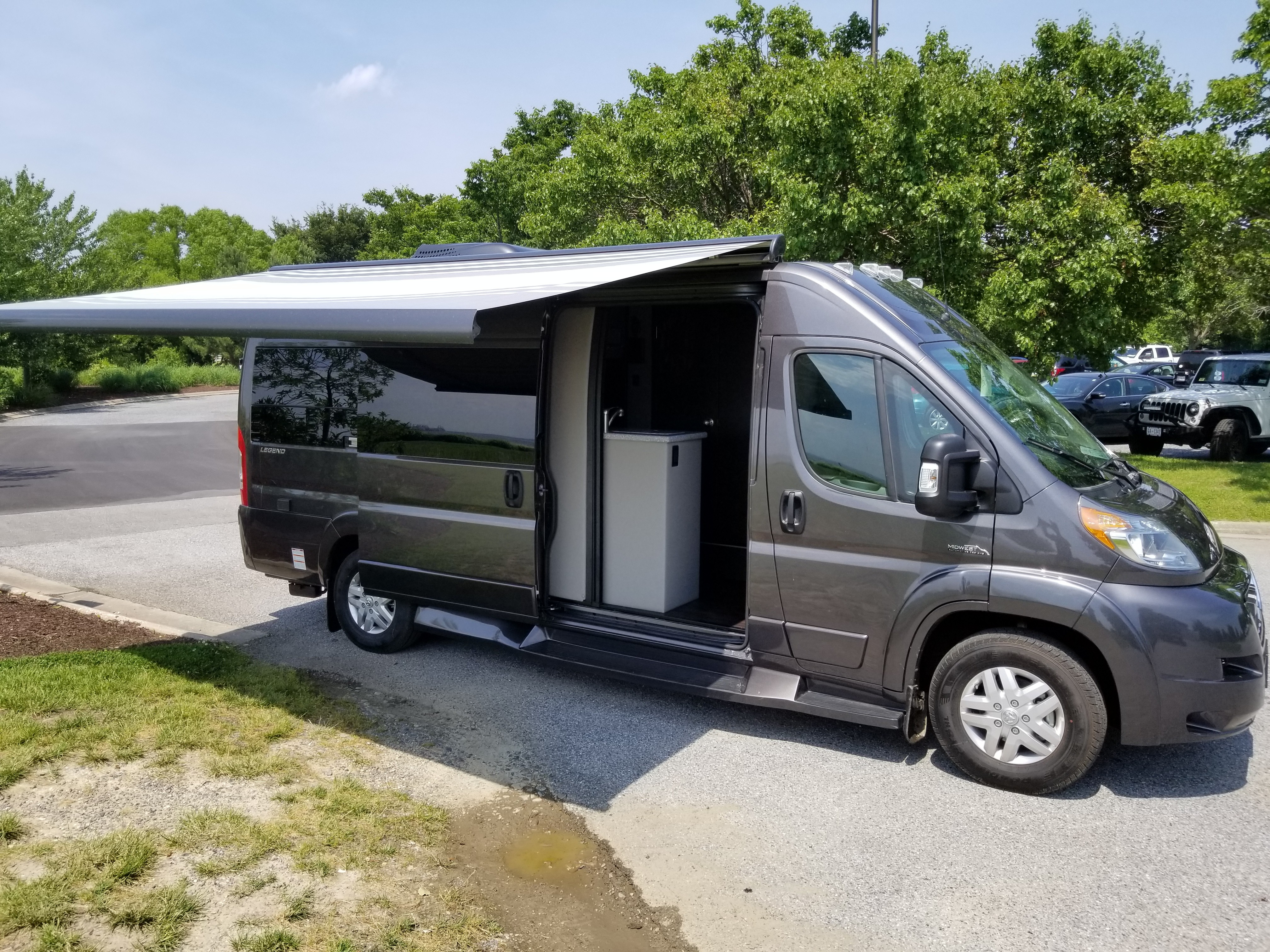 New 2020 Midwest Automotive Designs Promaster Legend in