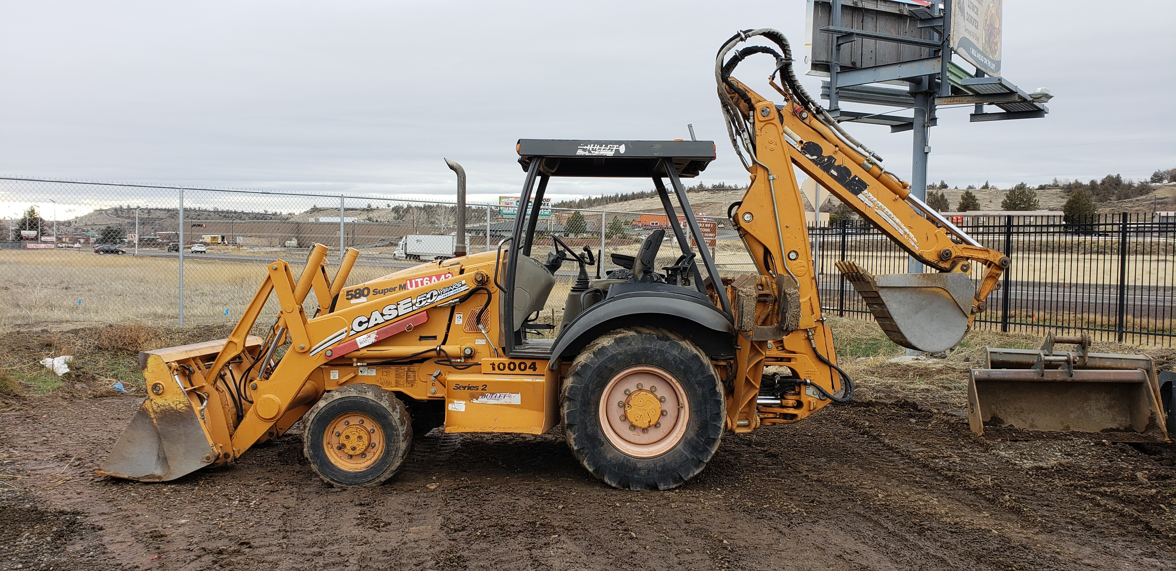 Used 2007 Case Construction 580 Super M Series 2 in Madras, OR
