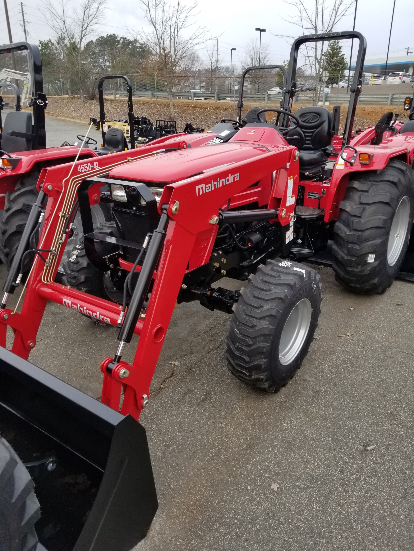 New, 2017, Mahindra, 4550 4WD, Tractors