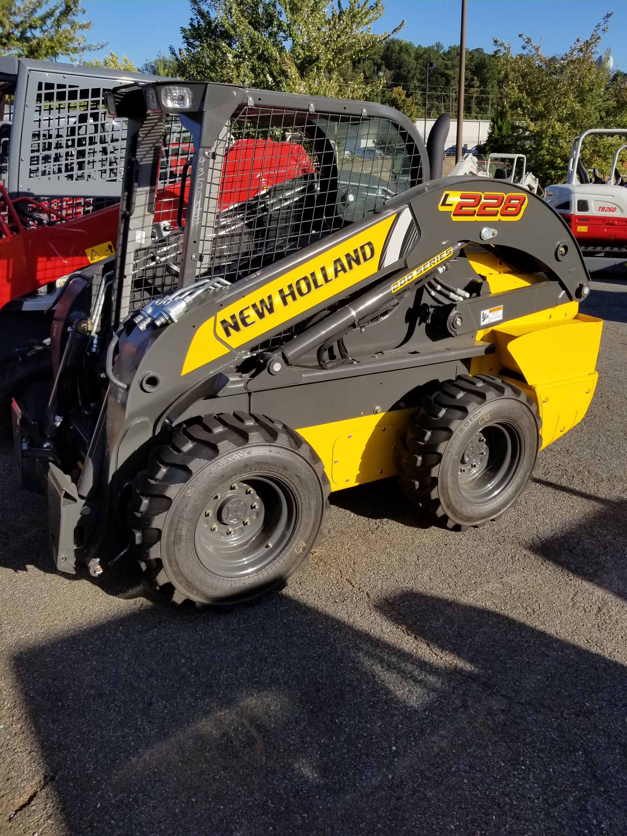 New, 2017, New Holland Construction, L228, Skid Steers