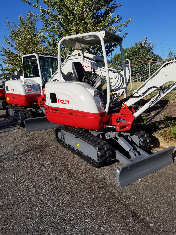 New, 2017, Takeuchi, TB230, Excavators