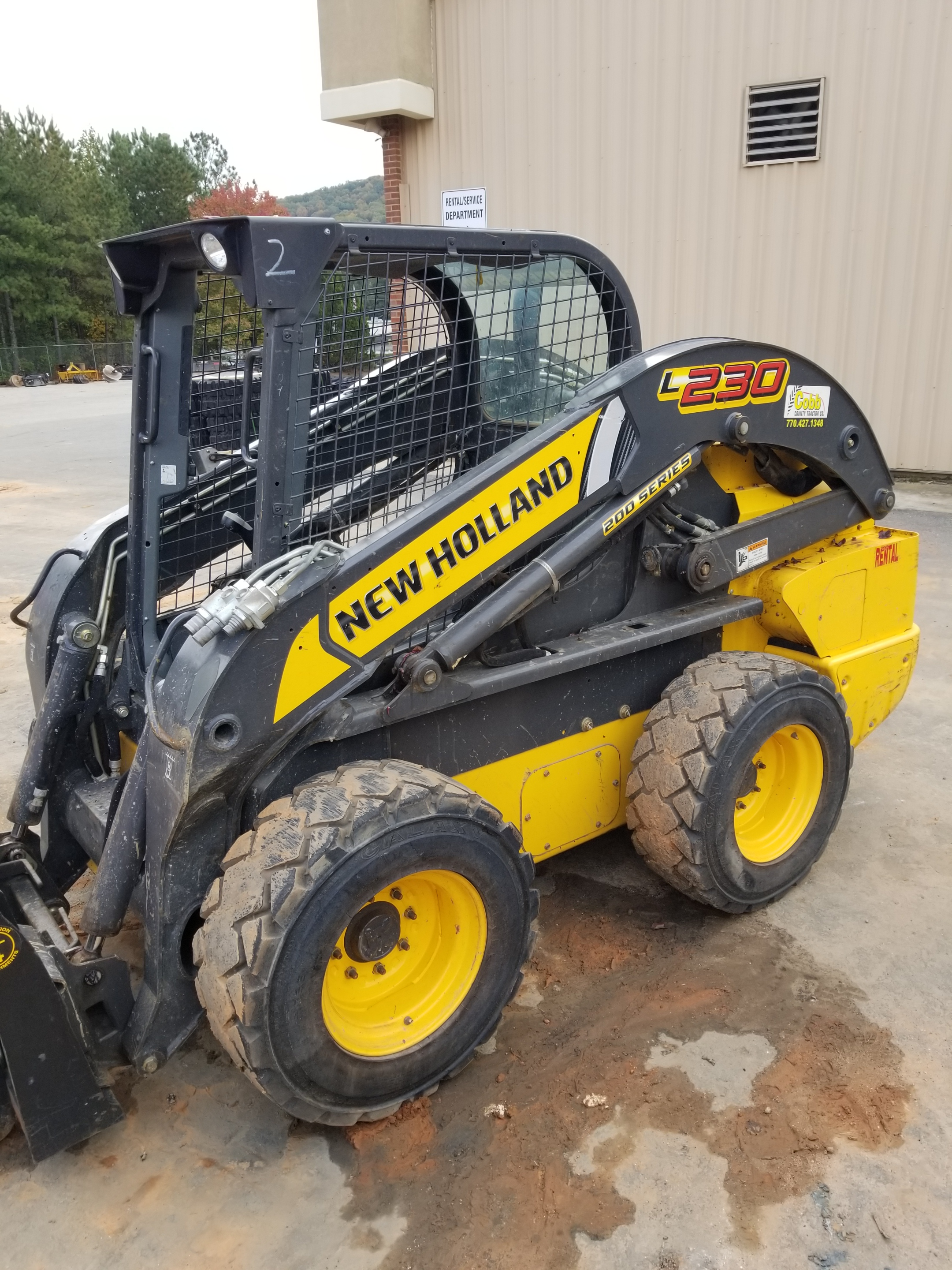 Used, 2016, New Holland Construction, L230, Skid Steers