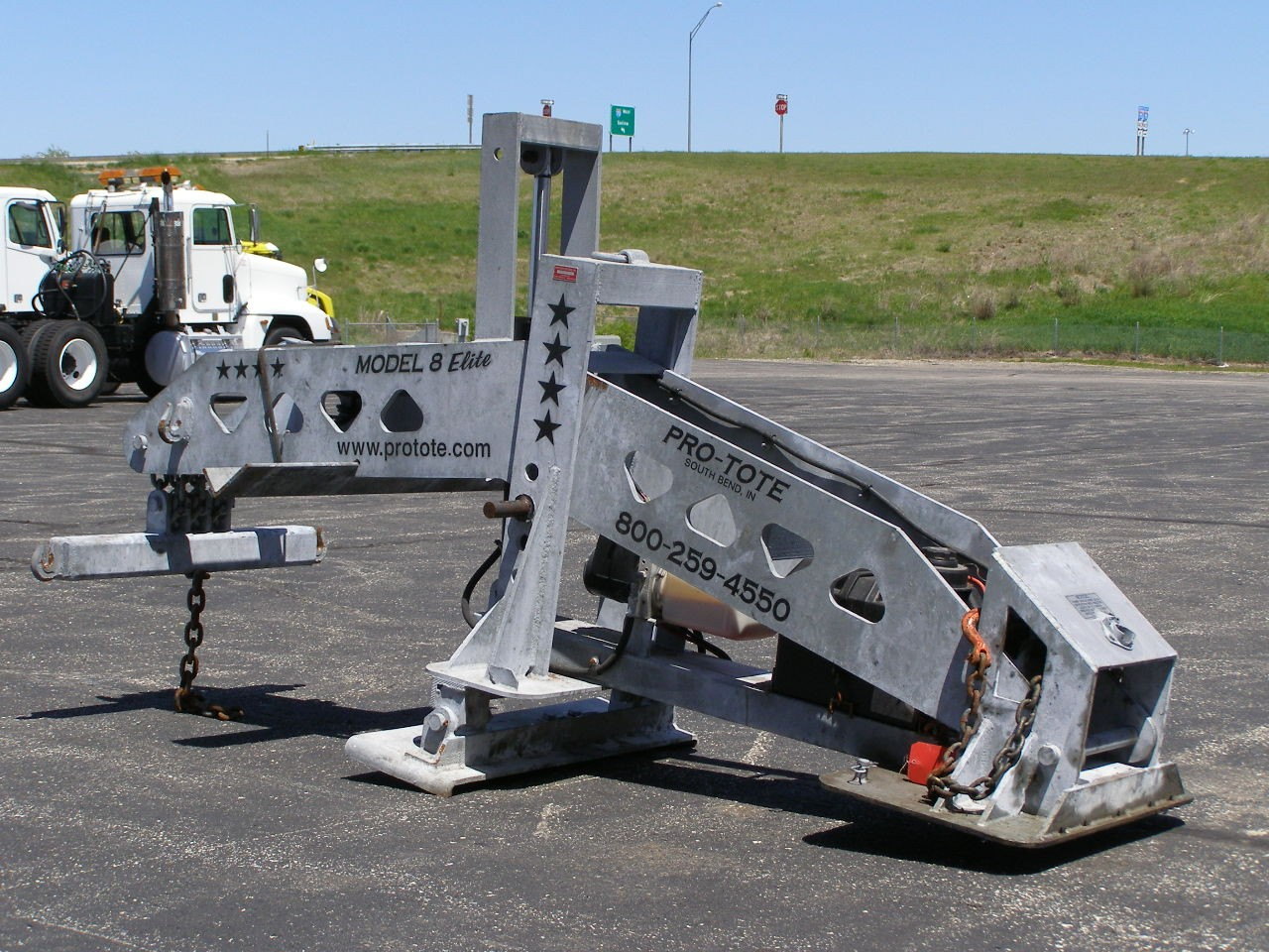 Used 2007 Pro-Tote Semi Truck Towing MODEL 8 ELITE in Solomon, KS