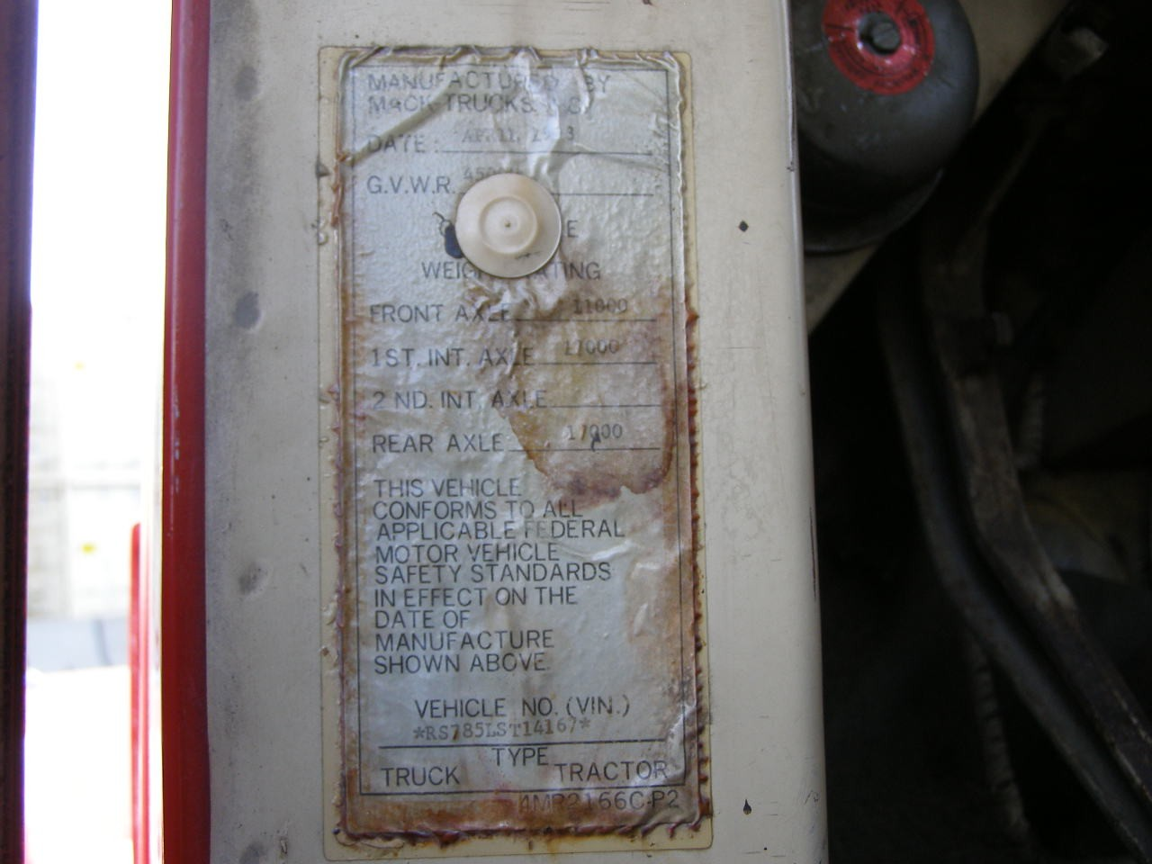Used 1973 Mack RS700L in Solomon, KS