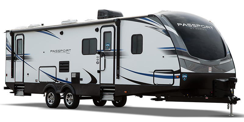 Used, 2020, Keystone, Passport Grand Touring (West) 2521RLWE GT, Travel Trailers