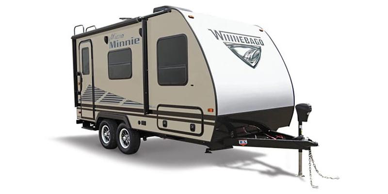 New, 2021, Winnebago, Micro Minnie 1808FBS, Travel Trailers