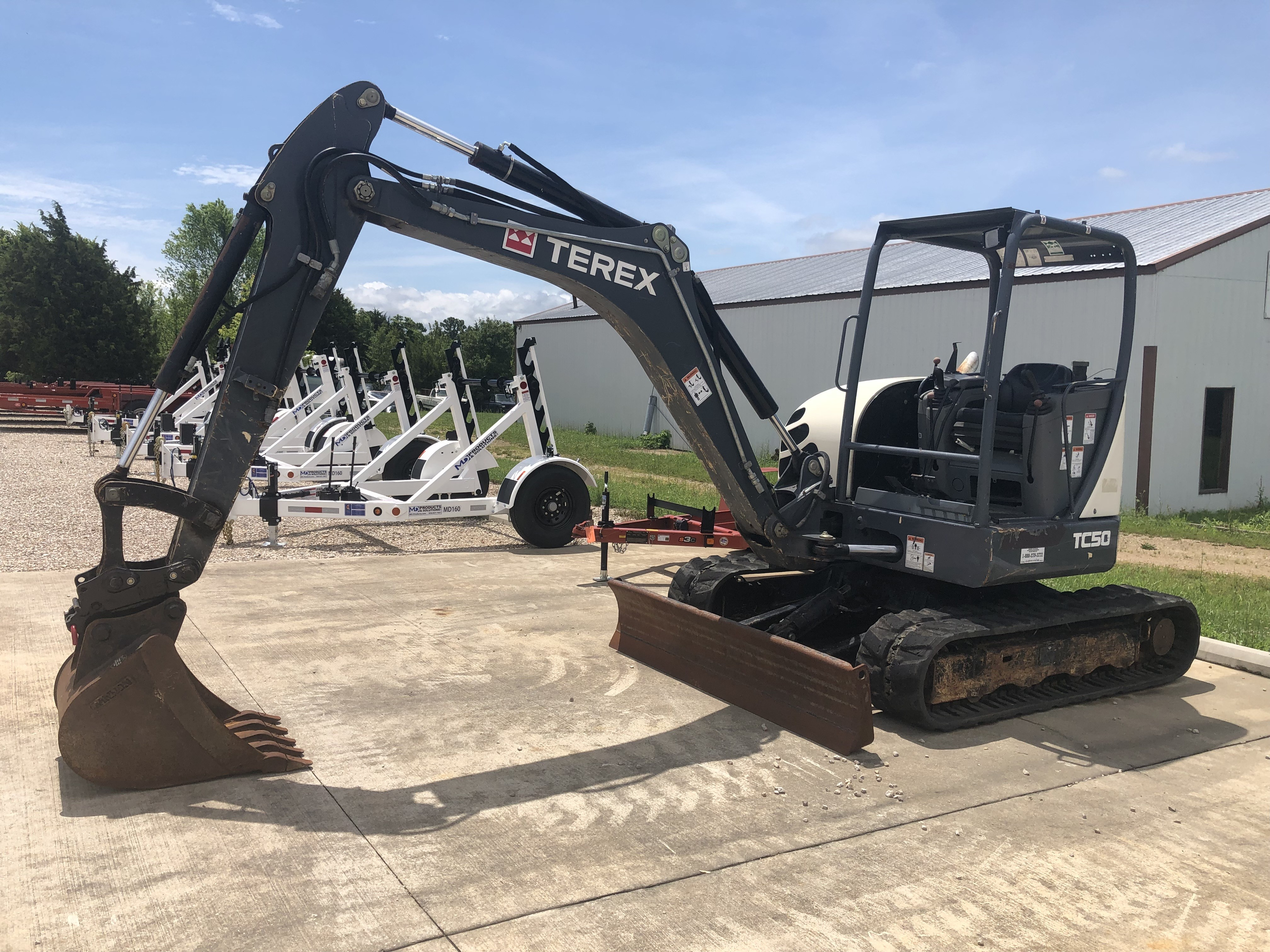 Used 2015 Terex TC50 With 24