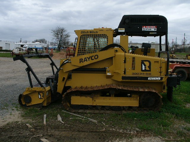 Rent this 2017 Rayco C100LGP Forestry Mulcher in Bossier