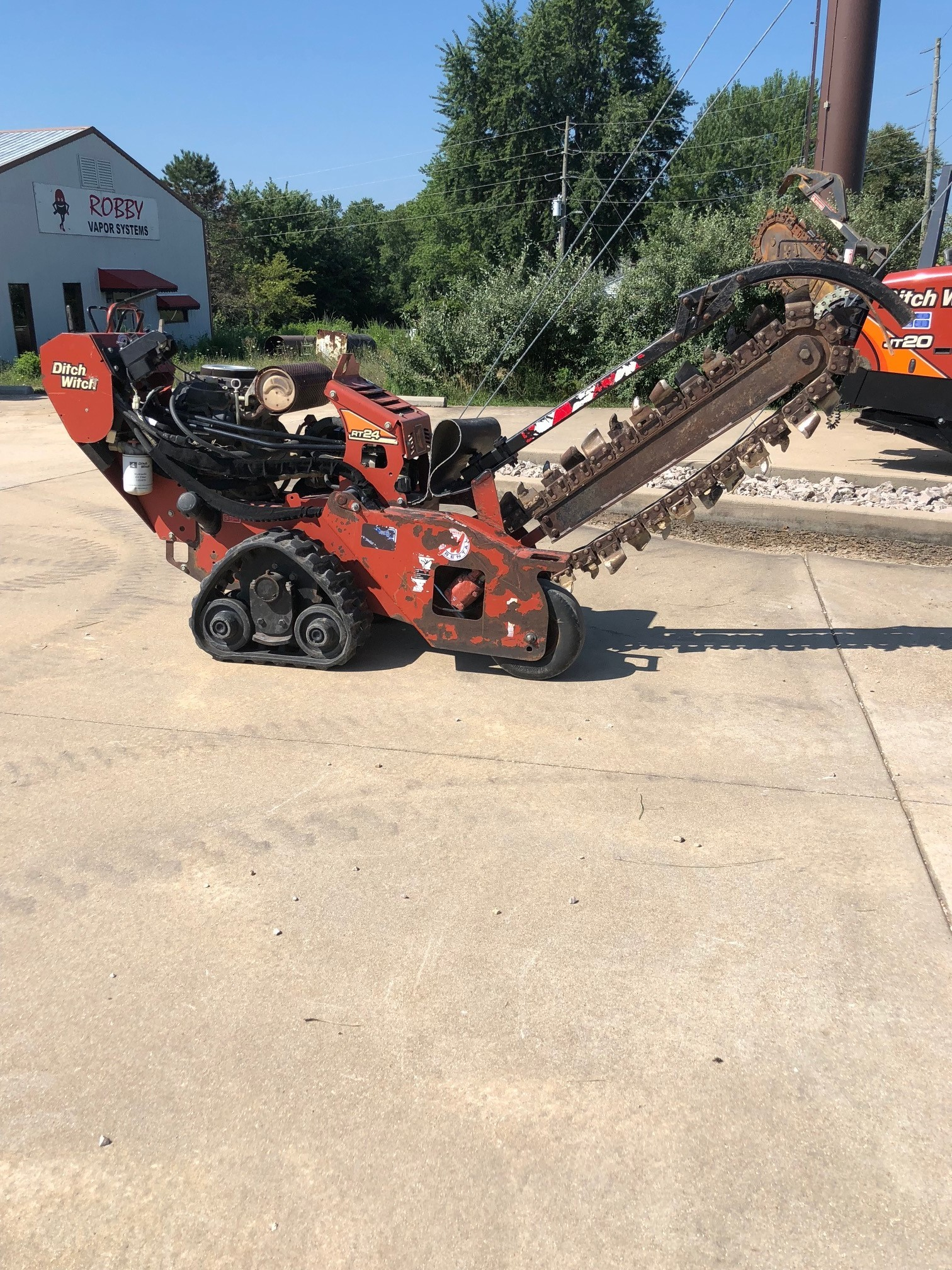 Used 2013 Ditch Witch RT24 Walk-Behind on Tracks in Sullivan, MO