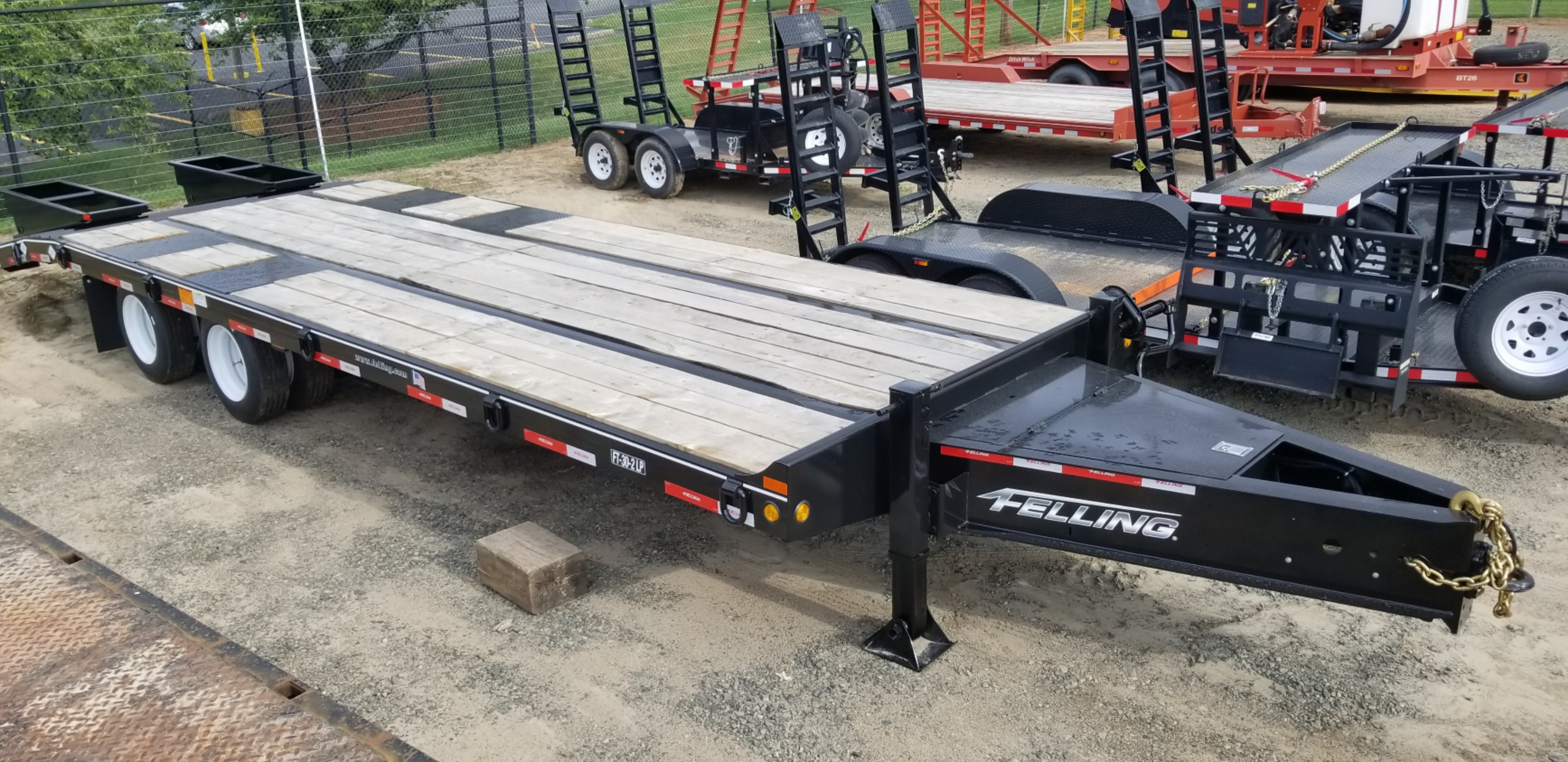 new felling trailers ft 30 2 lp deck over tag in charlotte, nc  felling trailer wiring harness for a #8