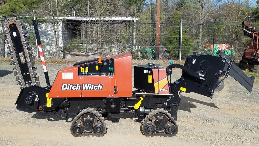 New Ditch Witch 410SX Vibratory QUAD Plow in Charlotte, NC