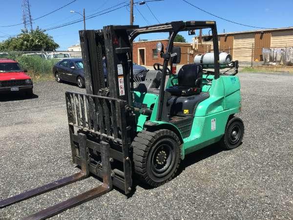 Used 2011 Mitsubishi Forklift FG45N in Richmond, VA