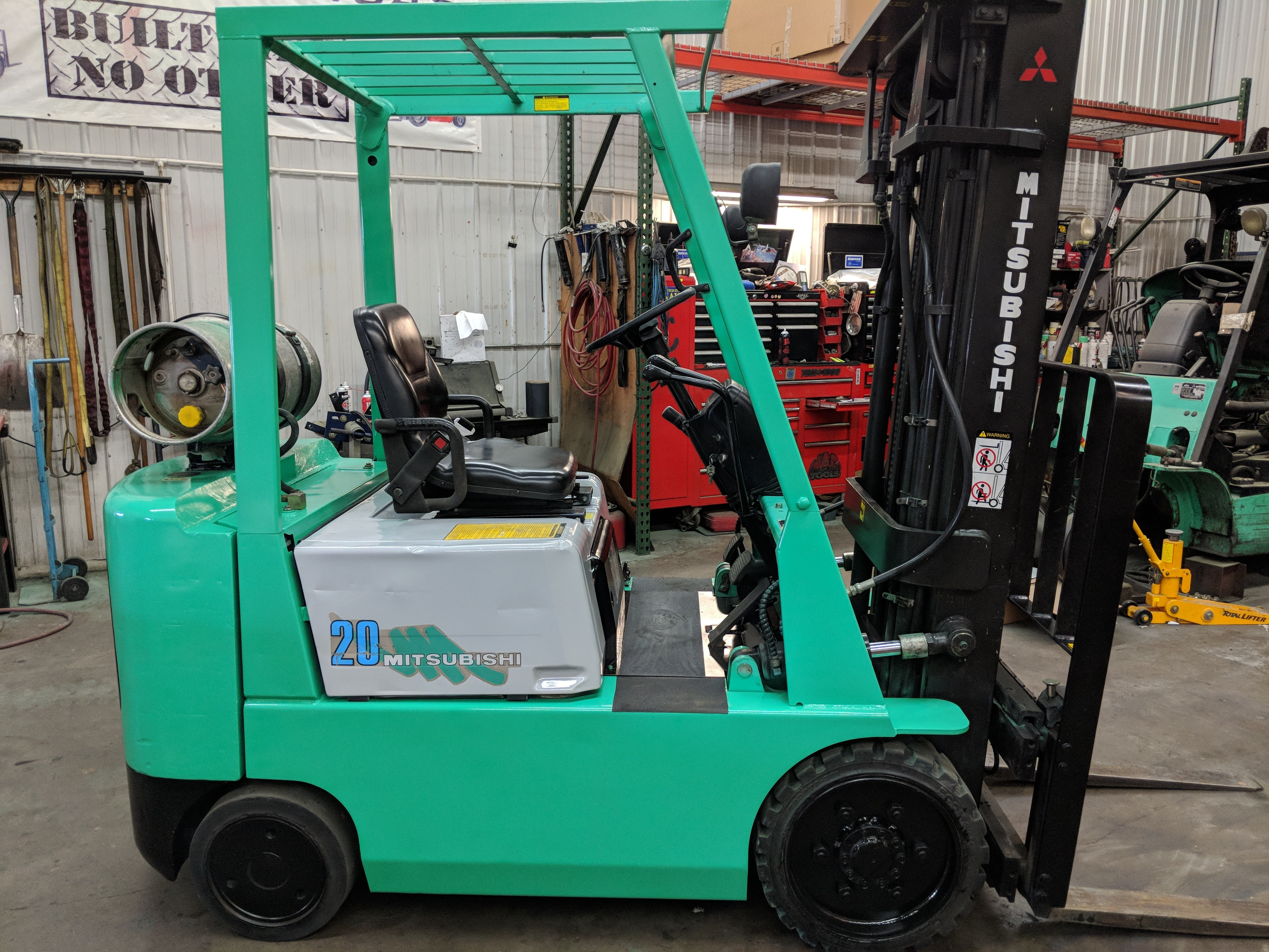 sales mitsubishi electric forklift product ces coronado forklifts lll equipment