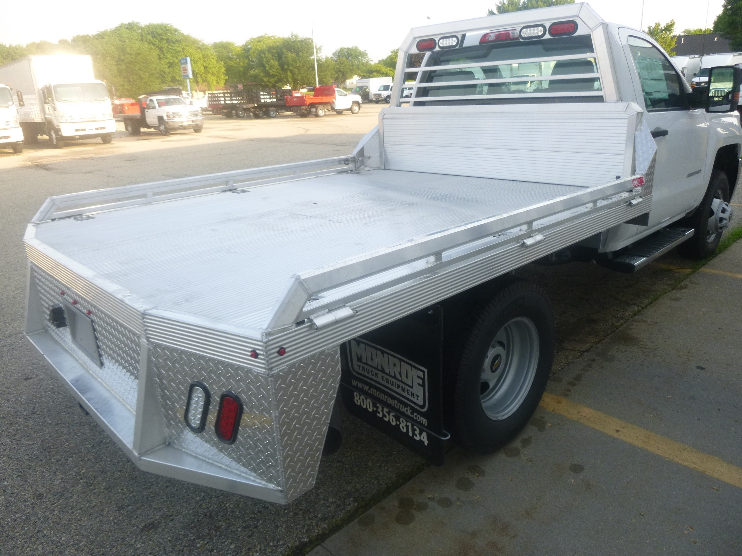 Fagan Truck Trailer Janesville Wisconsin Sells Isuzu Chevrolet 2015 Gm Pick Up Wiring 2018 Silverado 3500hd 4x4 12 Aluminum Flatbed Hauler
